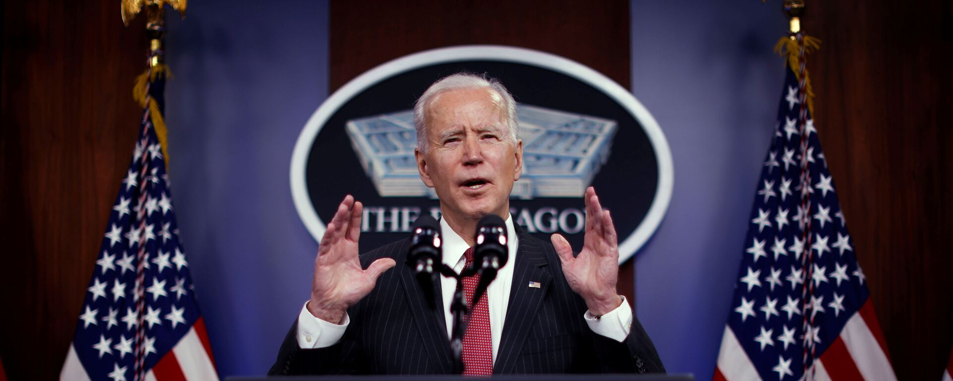Joe Biden, presidente de EEUU - Sputnik Mundo, 1920, 20.02.2021