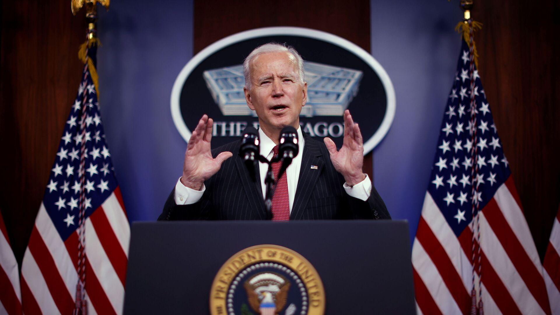 Joe Biden, presidente de EEUU - Sputnik Mundo, 1920, 25.02.2021