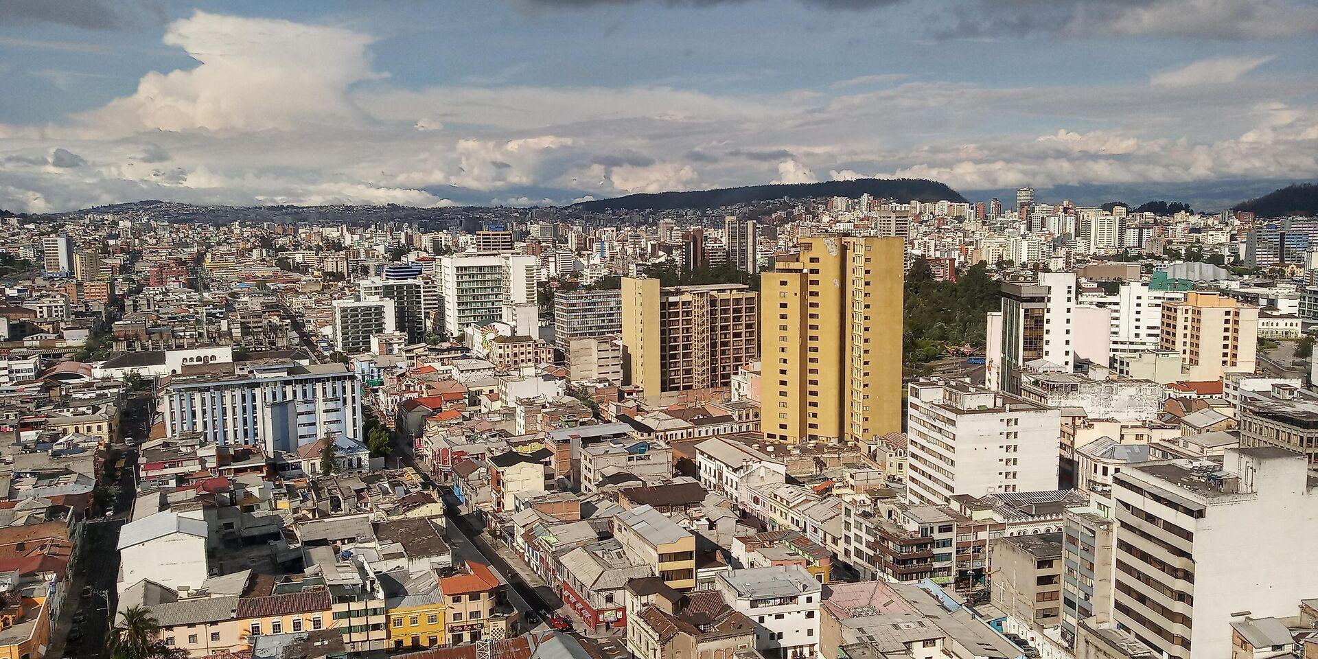 Vista sobre Quito desde la prefectura de Pichincha - Sputnik Mundo, 1920, 12.02.2021