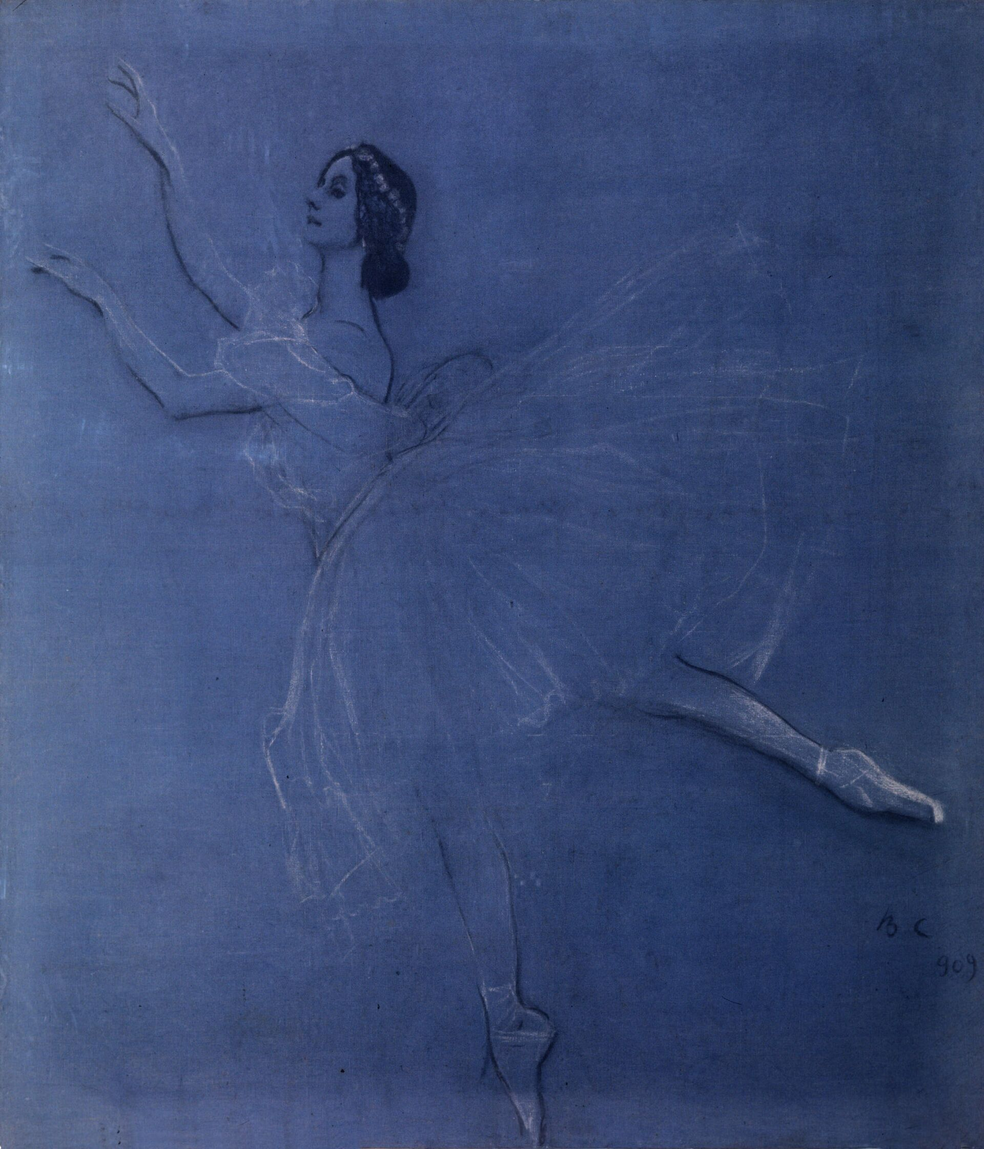 Anna Pávlova pintada por Valentín Serov - Sputnik Mundo, 1920, 12.02.2021