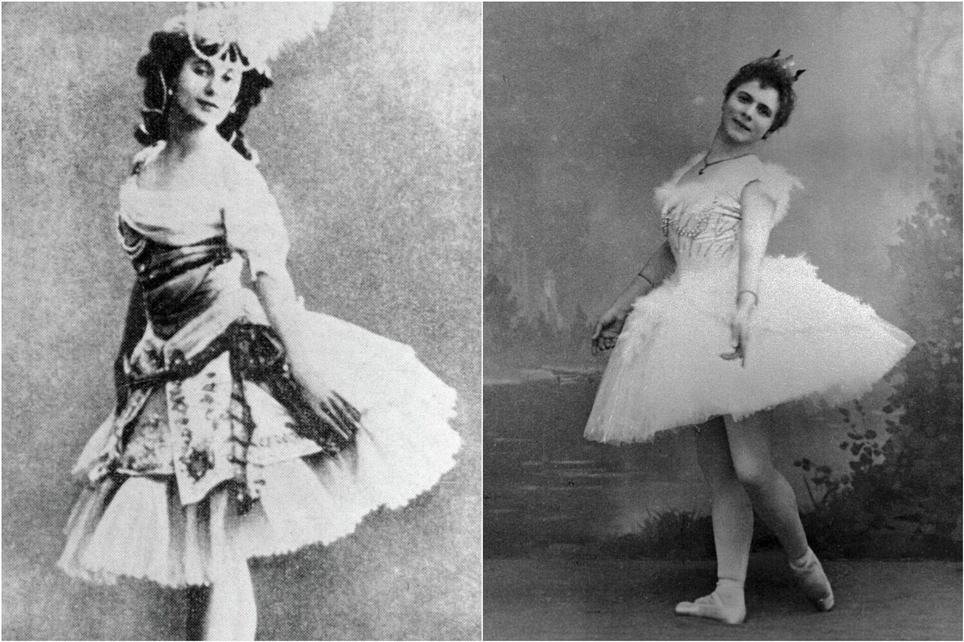 Bailarinas Anna Pávlova y Pierina Legnani - Sputnik Mundo, 1920, 12.02.2021