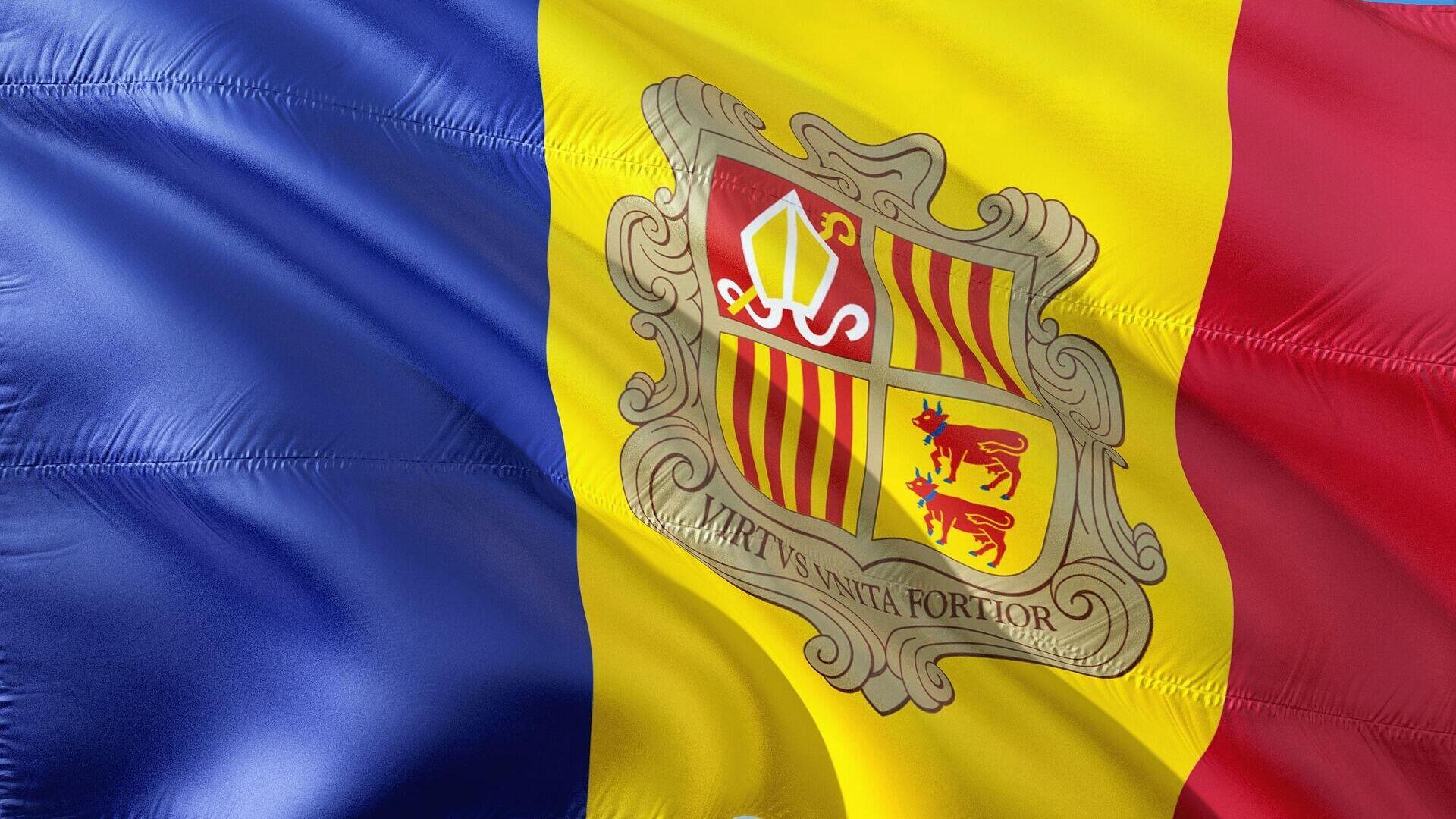 La bandera de Andorra - Sputnik Mundo, 1920, 12.02.2021