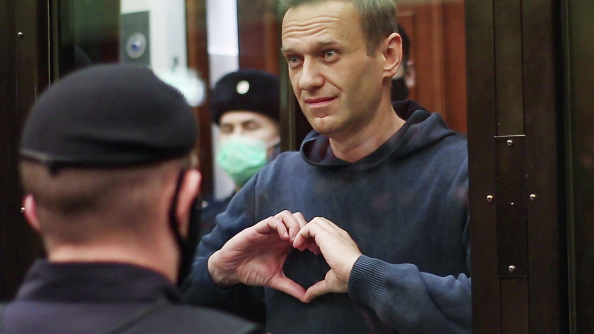 Bloguero opoistor ruso Alexéi Navalni - Sputnik Mundo, 1920, 03.03.2021