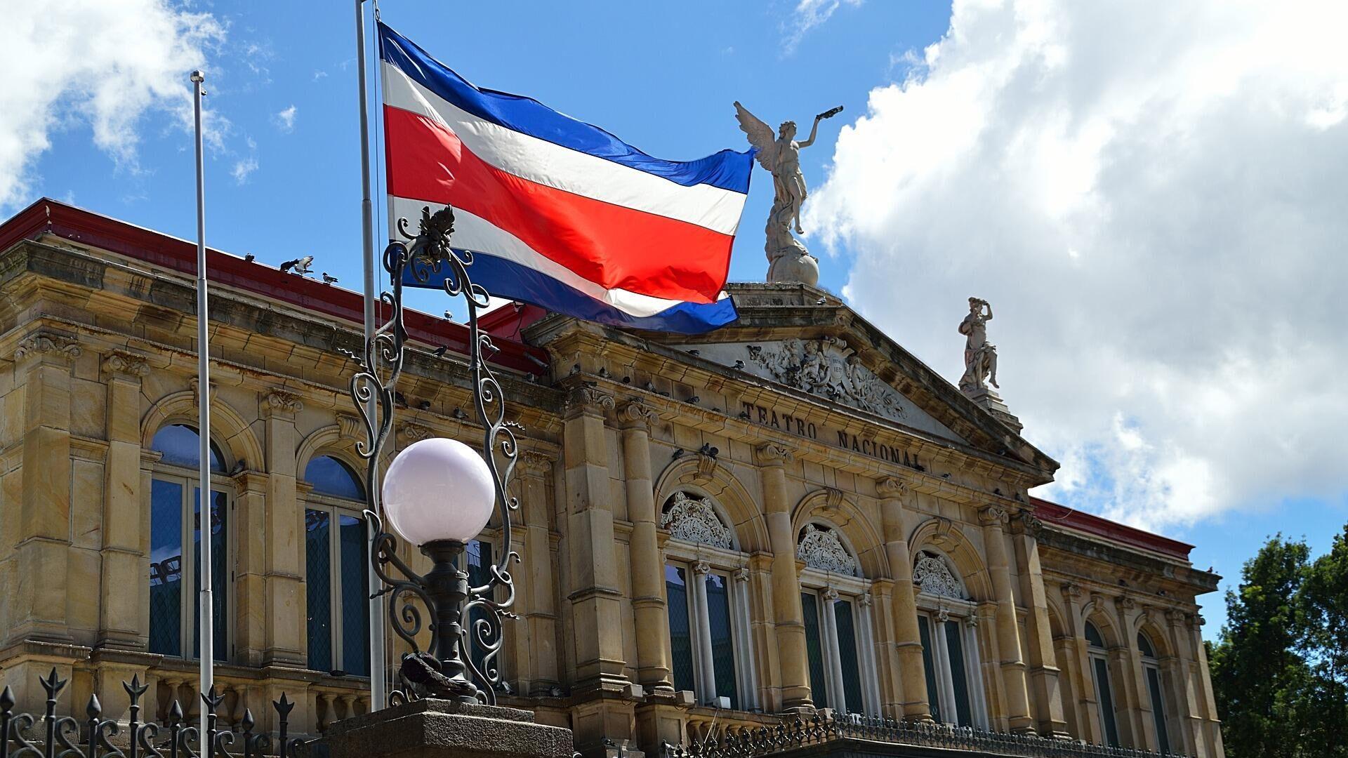 La bandera de Costa Rica - Sputnik Mundo, 1920, 29.04.2021