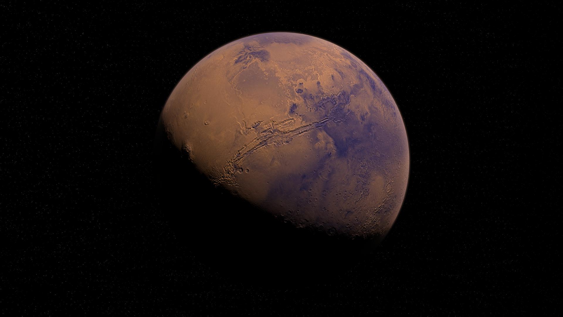 Marte (imagen referencial) - Sputnik Mundo, 1920, 27.02.2021
