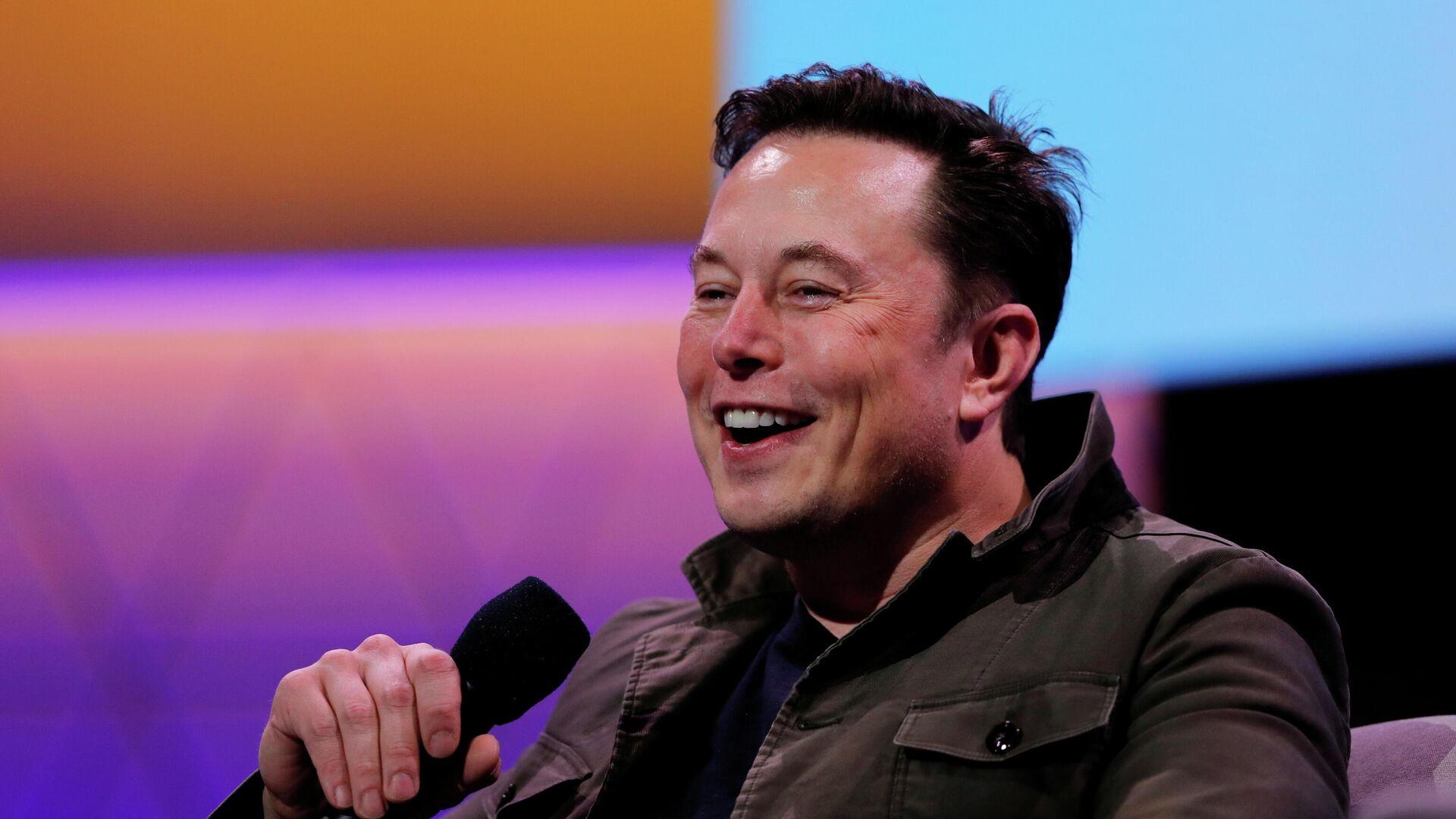 Elon Musk, director ejecutivo de Tesla - Sputnik Mundo, 1920, 13.02.2021