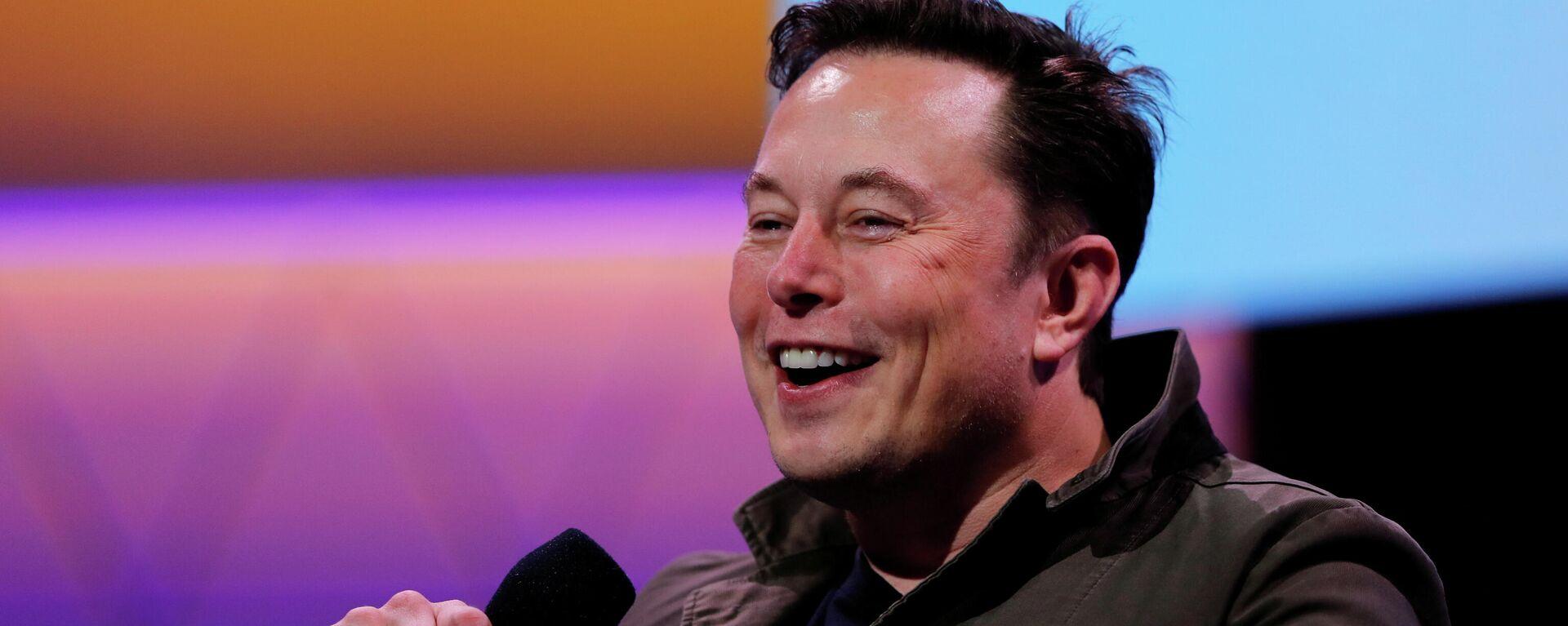 Elon Musk, director ejecutivo de Tesla - Sputnik Mundo, 1920, 09.06.2021