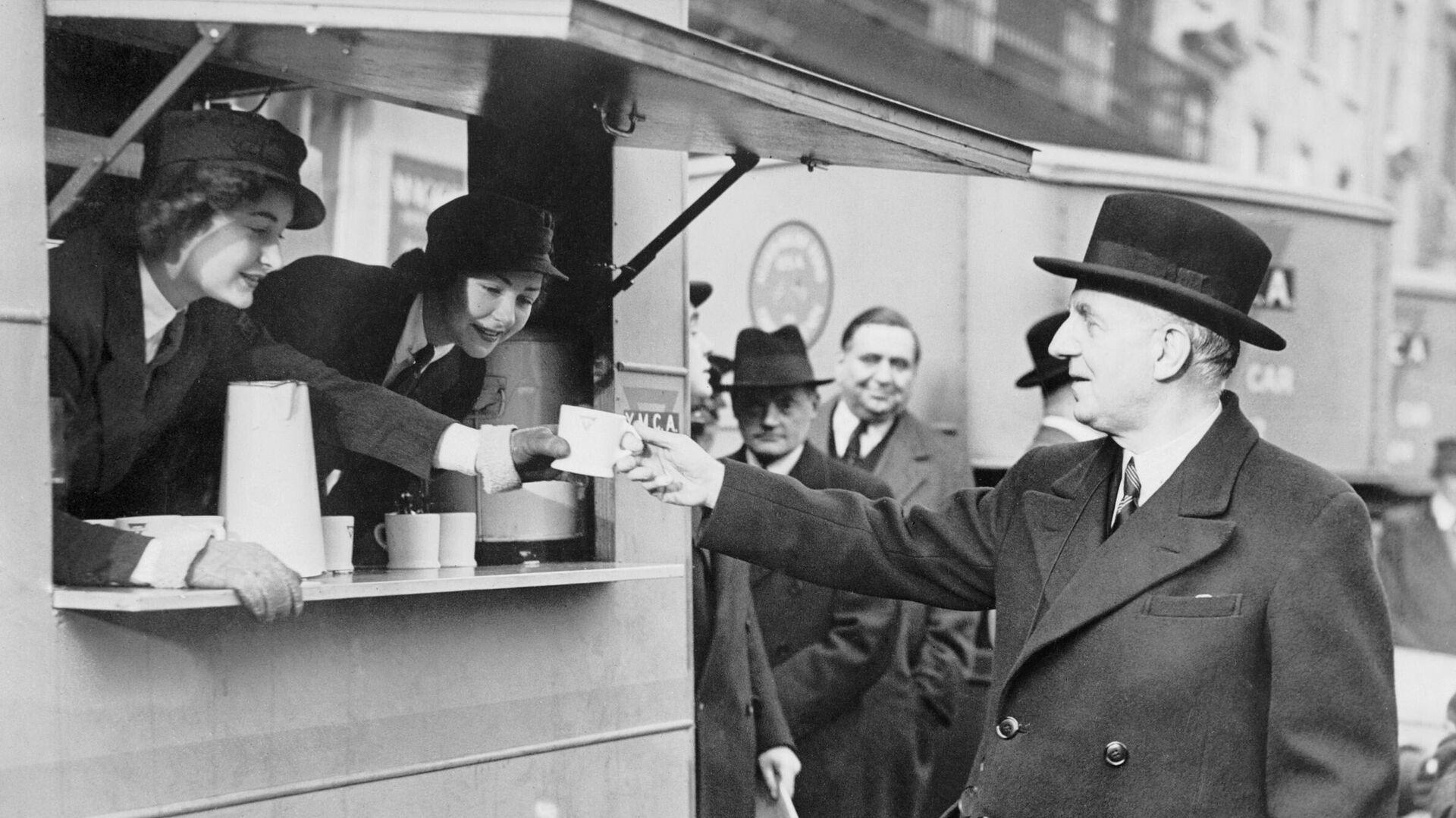 El ministro de Alimentación del Reino Unido, Frederick Marquis - Sputnik Mundo, 1920, 14.02.2021