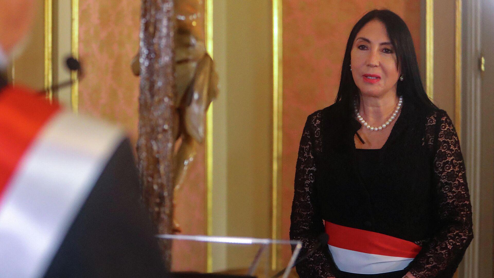 Elizabeth Astete, exministra de Exteriores de Perú - Sputnik Mundo, 1920, 15.02.2021