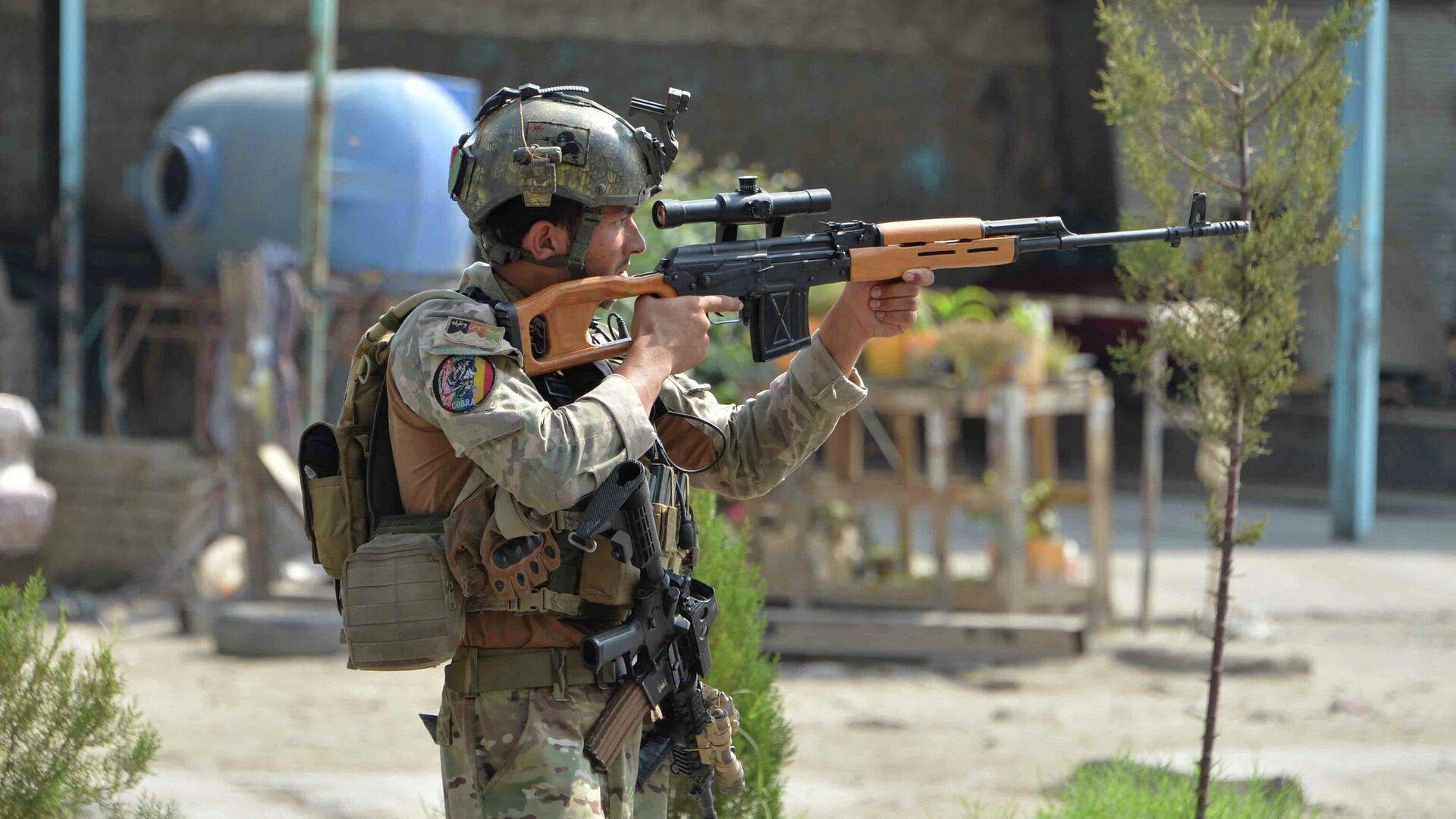 Soldado afgano en Jalalabad, Afganistán - Sputnik Mundo, 1920, 26.02.2021