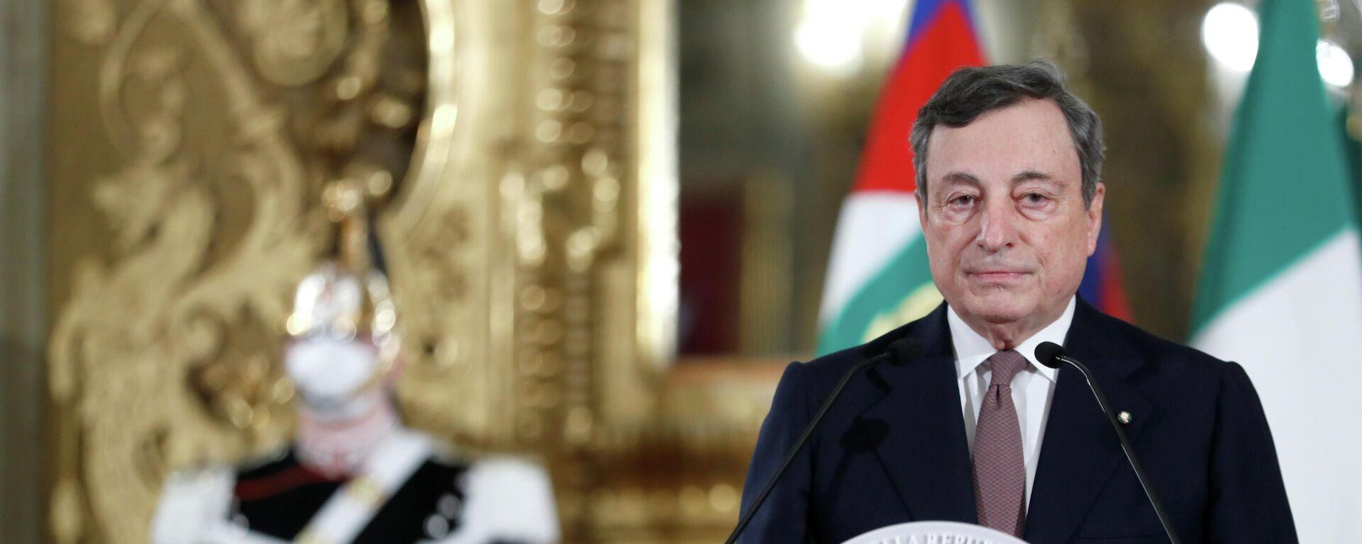 Mario Draghi, primer ministro de Italia - Sputnik Mundo, 1920, 15.02.2021