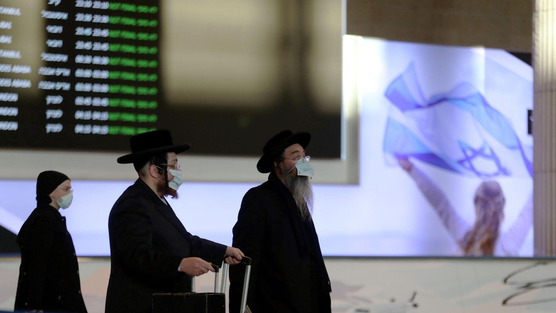 El aeropuerto de Ben Gurión, Israel - Sputnik Mundo, 1920, 15.02.2021