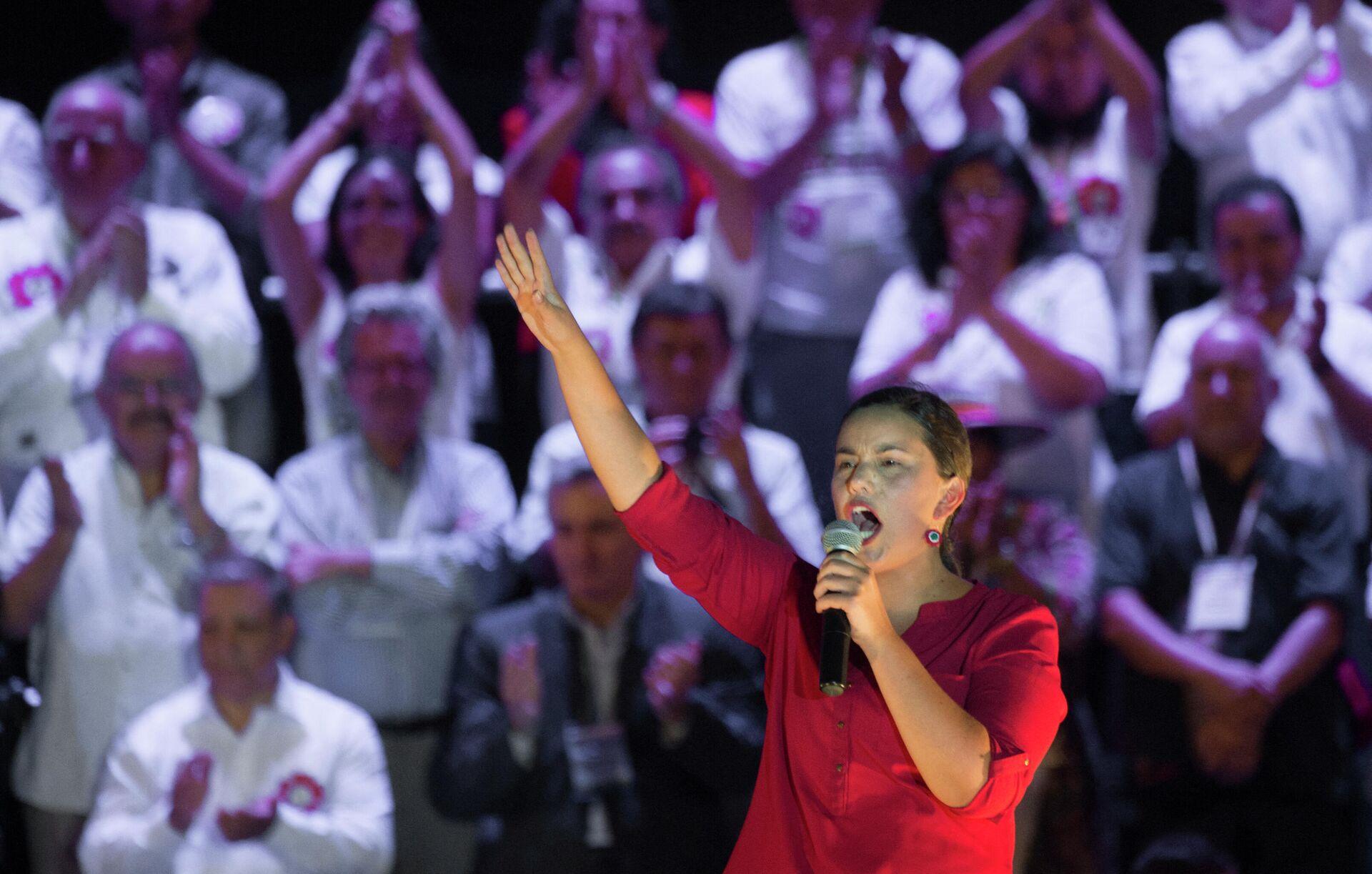 Verónika Mendoza, candidata a las elecciones presidenciales en Perú - Sputnik Mundo, 1920, 17.02.2021