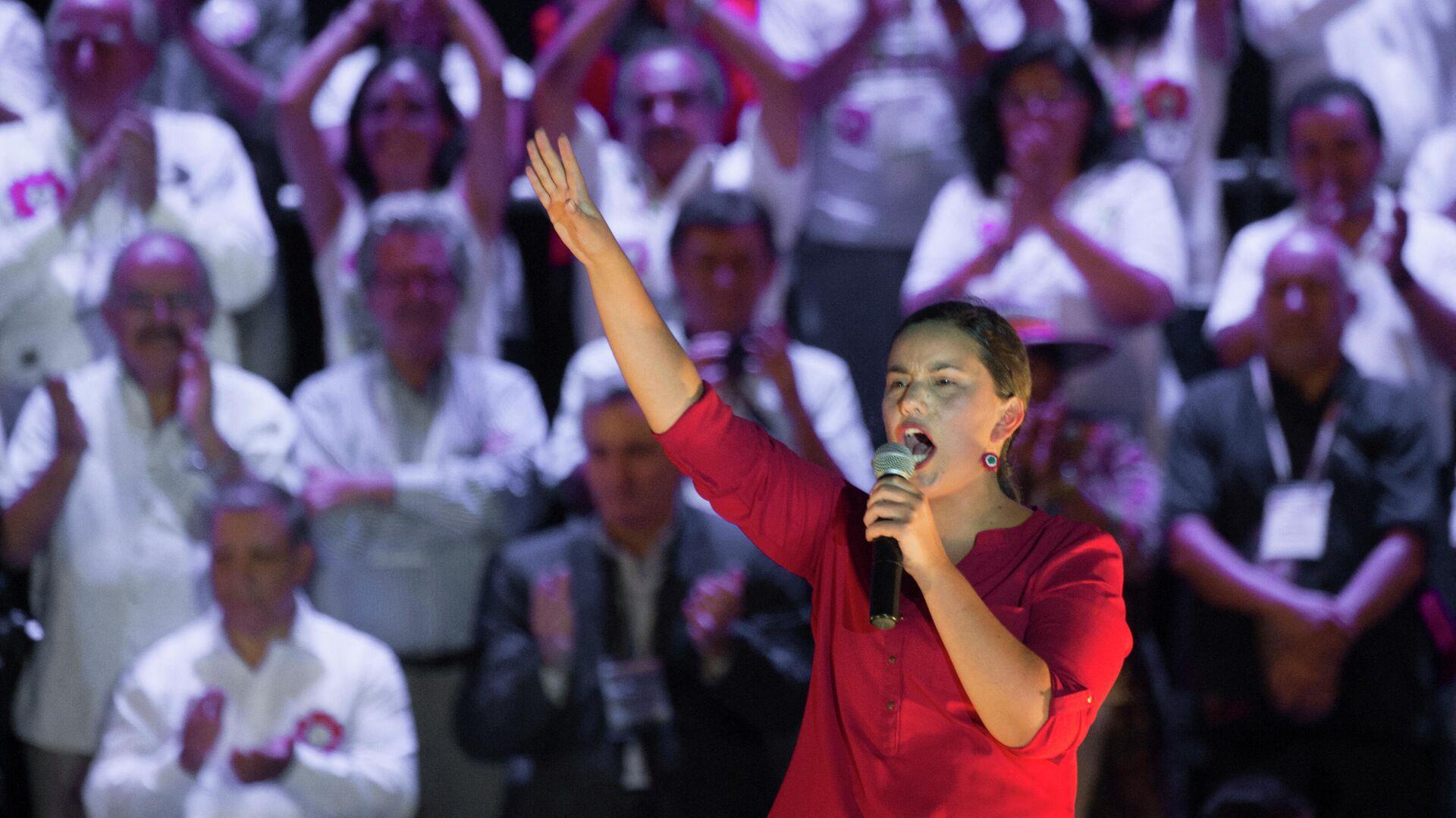 Verónika Mendoza, candidata a las elecciones presidenciales en Perú - Sputnik Mundo, 1920, 15.02.2021