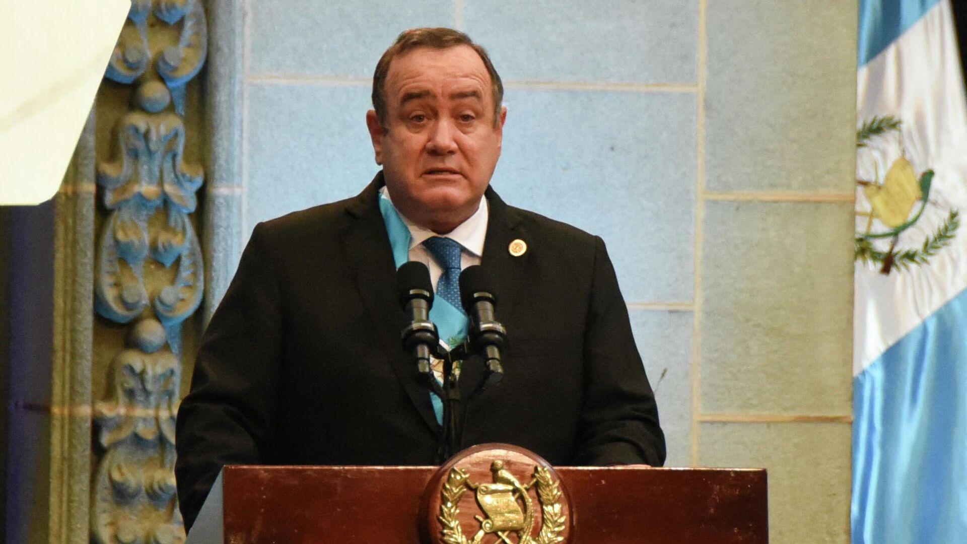 Alejandro Giammattei, presidente de Guatemala - Sputnik Mundo, 1920, 15.02.2021