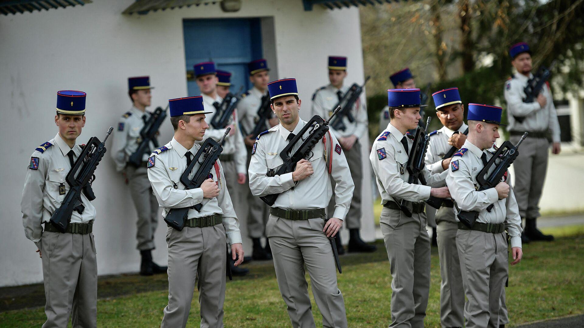 Militares franceses - Sputnik Mundo, 1920, 16.02.2021