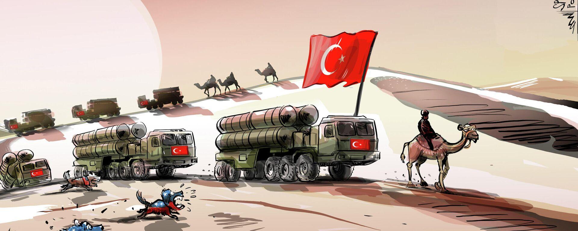 EEUU 'ladra' pero la caravana de los S-400 avanza en Turquía  - Sputnik Mundo, 1920, 16.02.2021