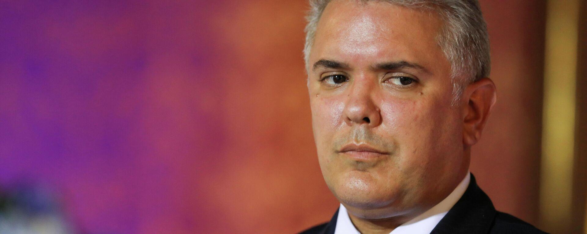 Iván Duque, presidente de Colombia - Sputnik Mundo, 1920, 07.09.2021
