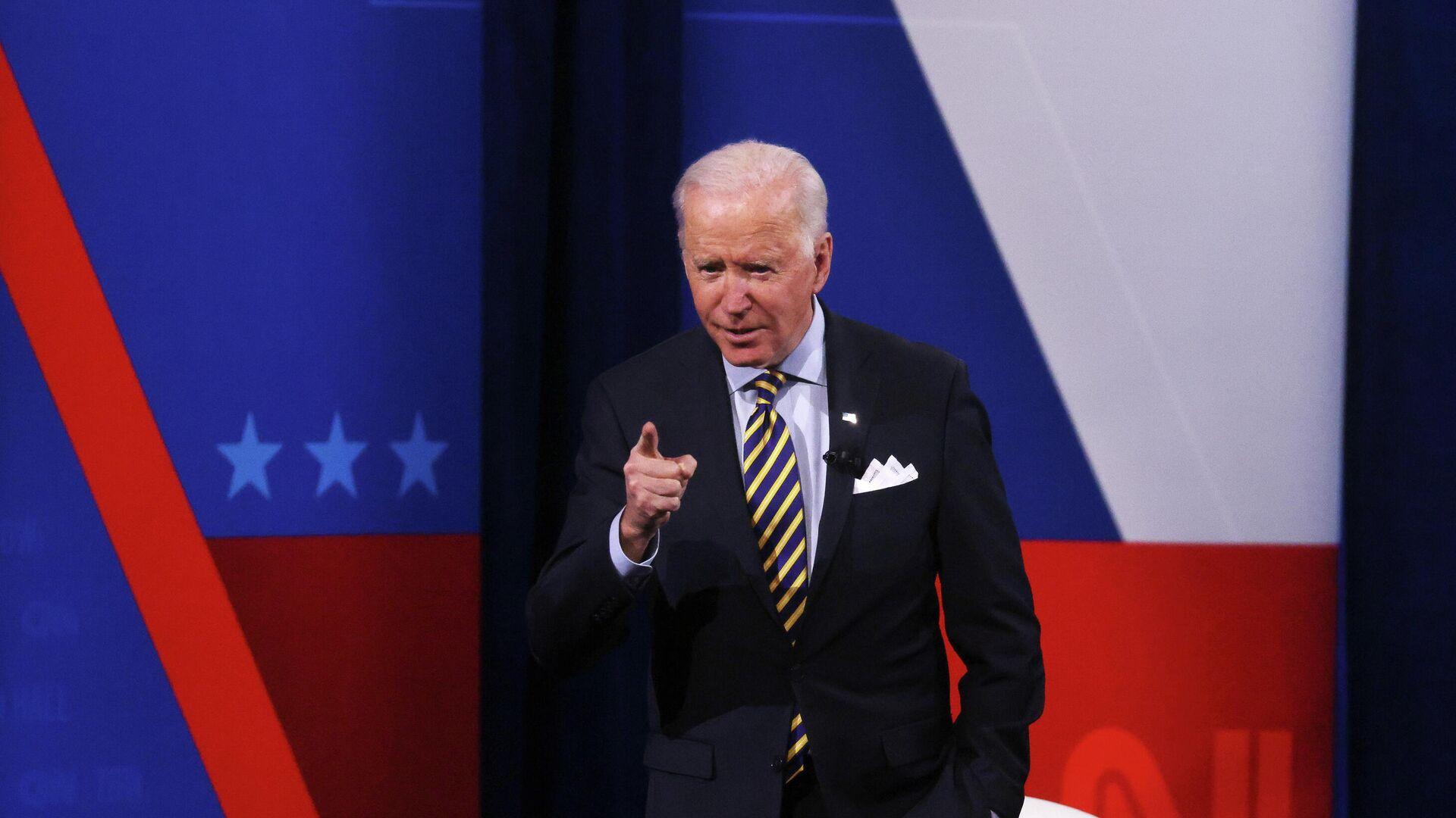 Joe Biden, presidente de EEUU - Sputnik Mundo, 1920, 17.02.2021