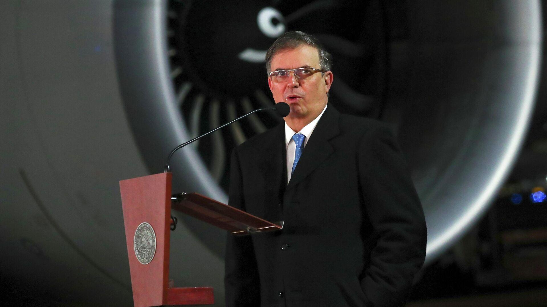 Marcelo Ebrard, canciller de México - Sputnik Mundo, 1920, 27.04.2021