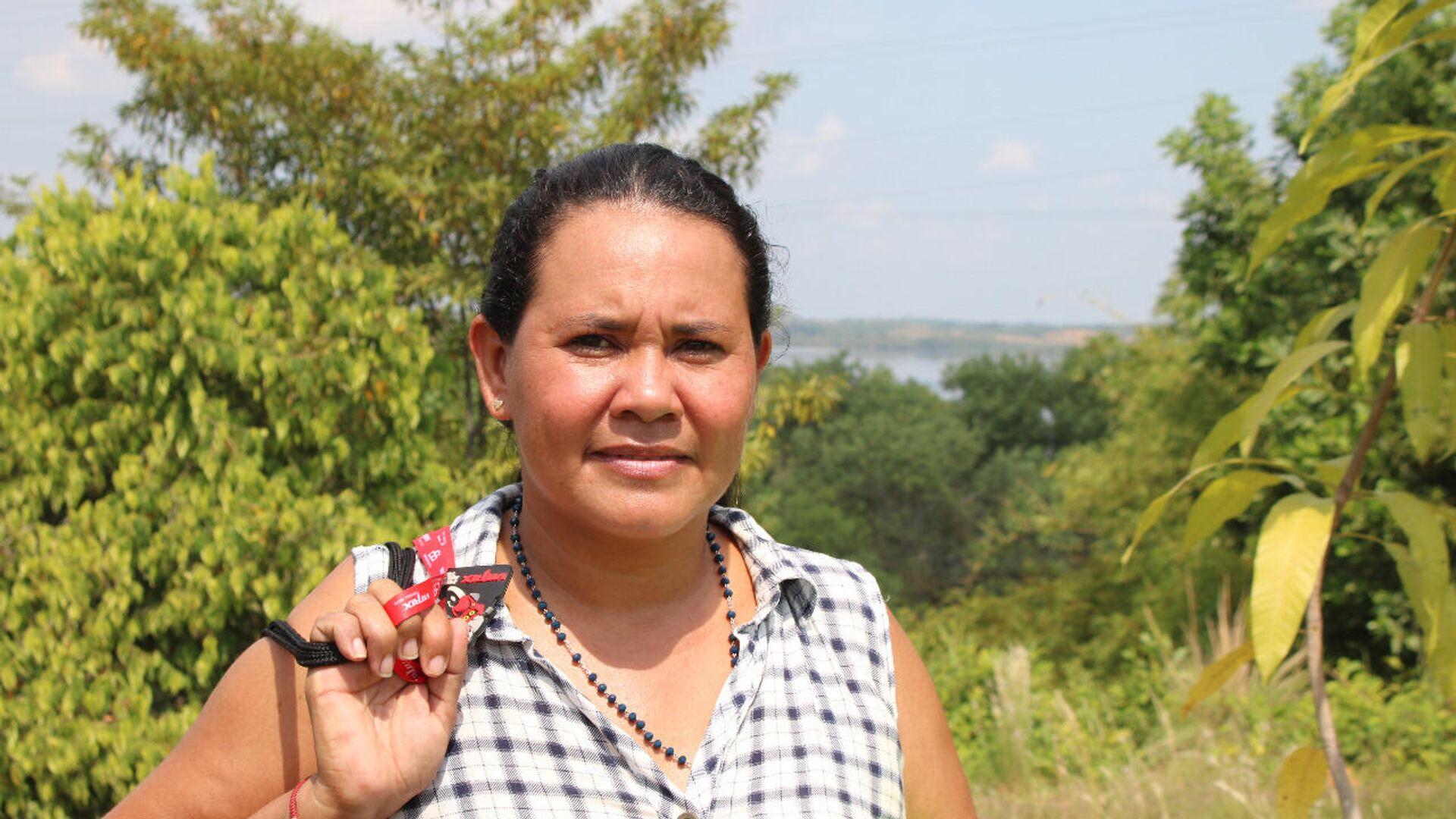 Yuli Velásquez es pescadora artesanal y líder ambiental en la Ciénaga de San Silvestre - Sputnik Mundo, 1920, 18.02.2021