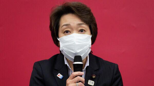 Seiko Hashimoto, nueva presidenta del comité organizador de la cita olímpica, exmedallista olímpica y política - Sputnik Mundo