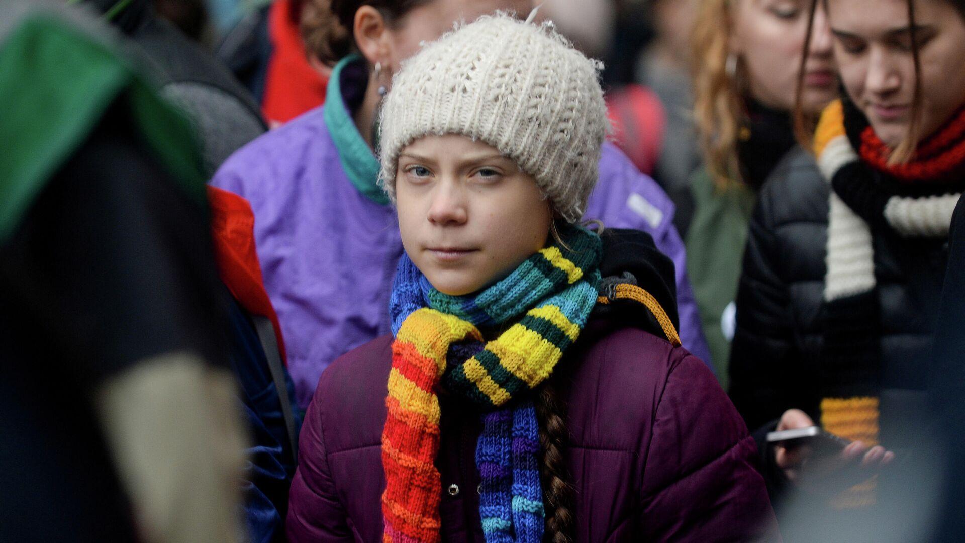 Greta Thunberg, activista sueca - Sputnik Mundo, 1920, 18.02.2021