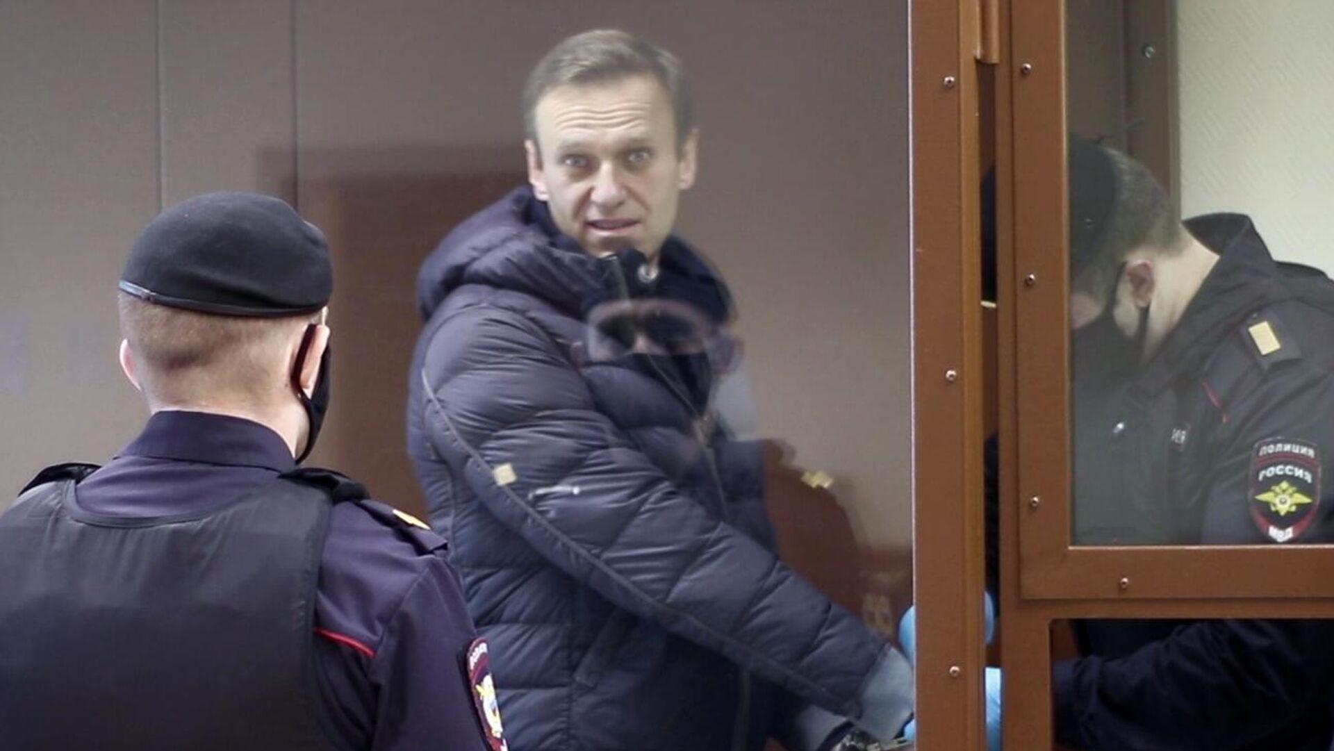 Alexéi Navalni, bloguero opositor ruso - Sputnik Mundo, 1920, 19.02.2021