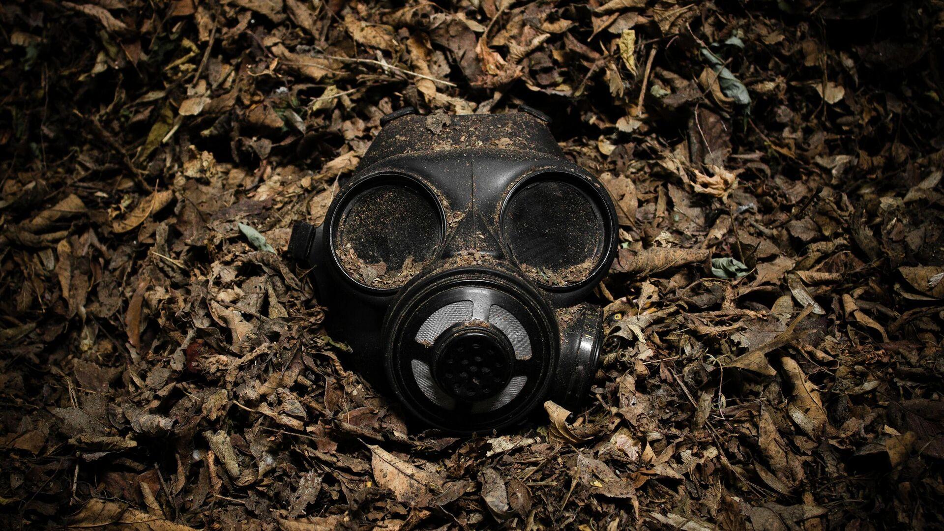 Una máscara antigás - Sputnik Mundo, 1920, 16.05.2021
