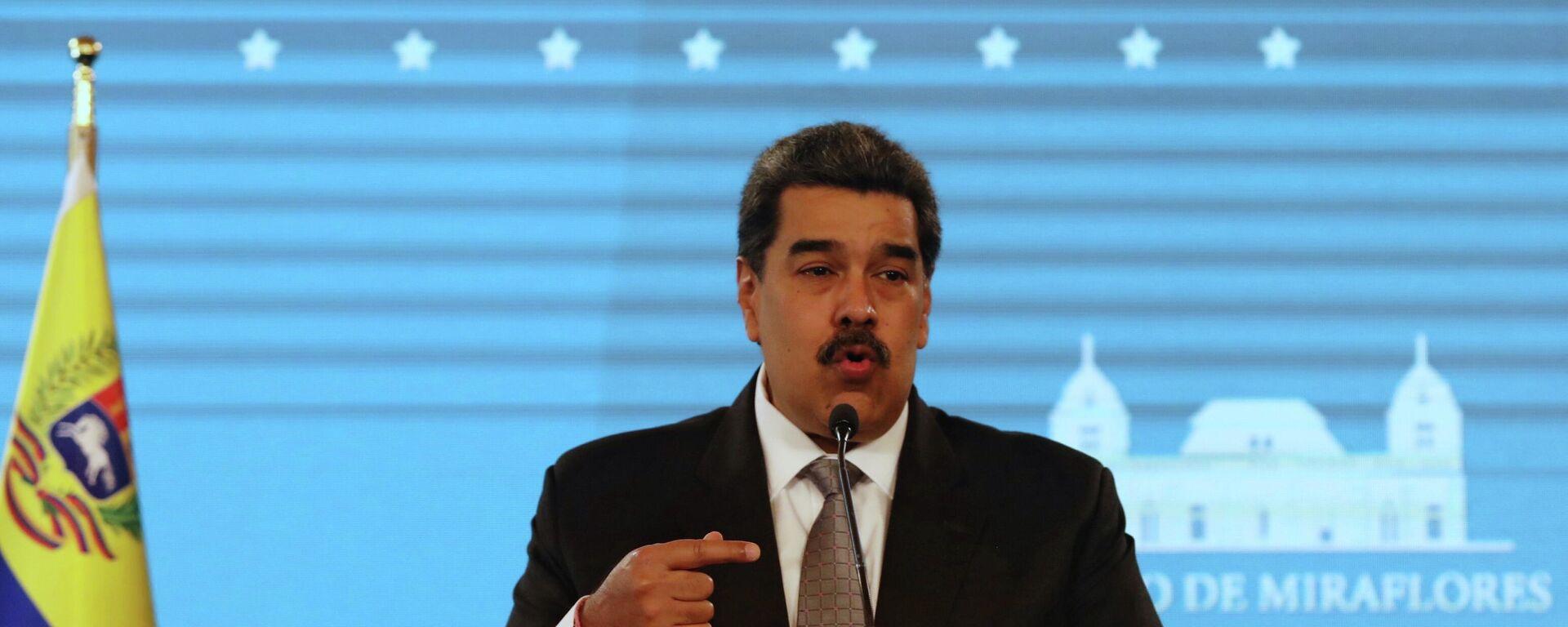 Nicolás Maduro, presidente de Venezuela - Sputnik Mundo, 1920, 13.07.2021