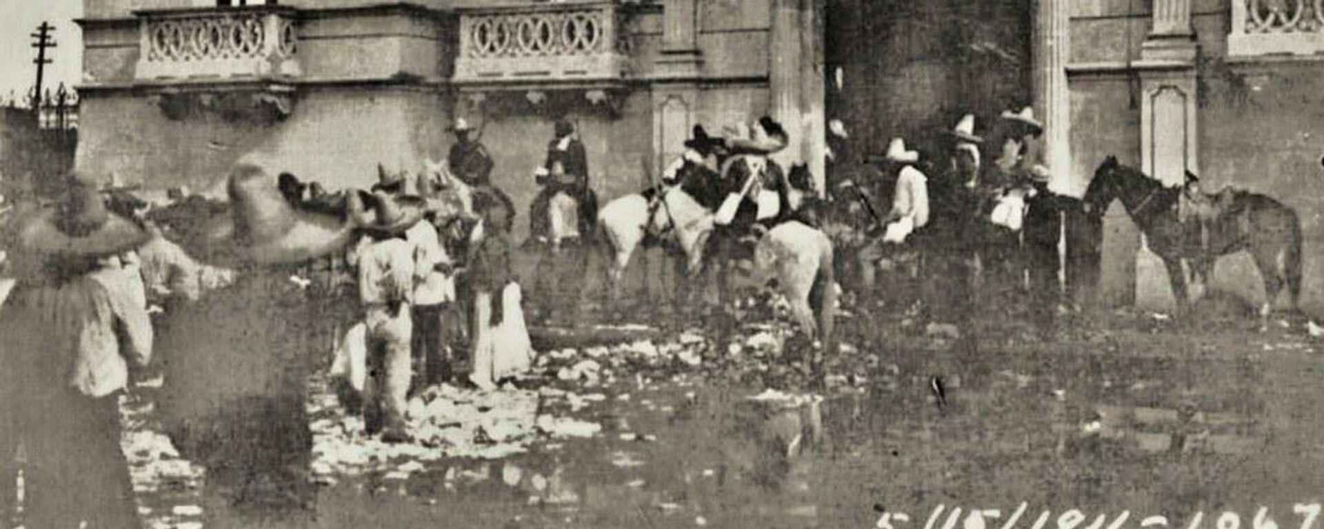Maderistas entrando al casino de La Laguna el 15 de mayo de 1911 - Sputnik Mundo, 1920, 19.02.2021