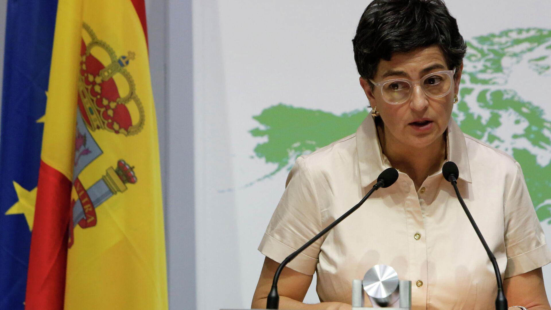 Arancha González Laya, ministra de Asuntos Exteriores de España - Sputnik Mundo, 1920, 08.04.2021