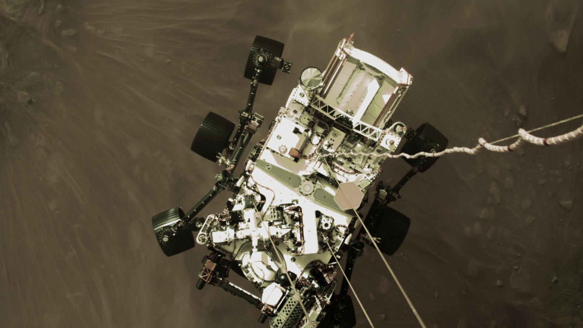 El aterrizaje del róver Perseverance en Marte - Sputnik Mundo, 1920, 19.02.2021