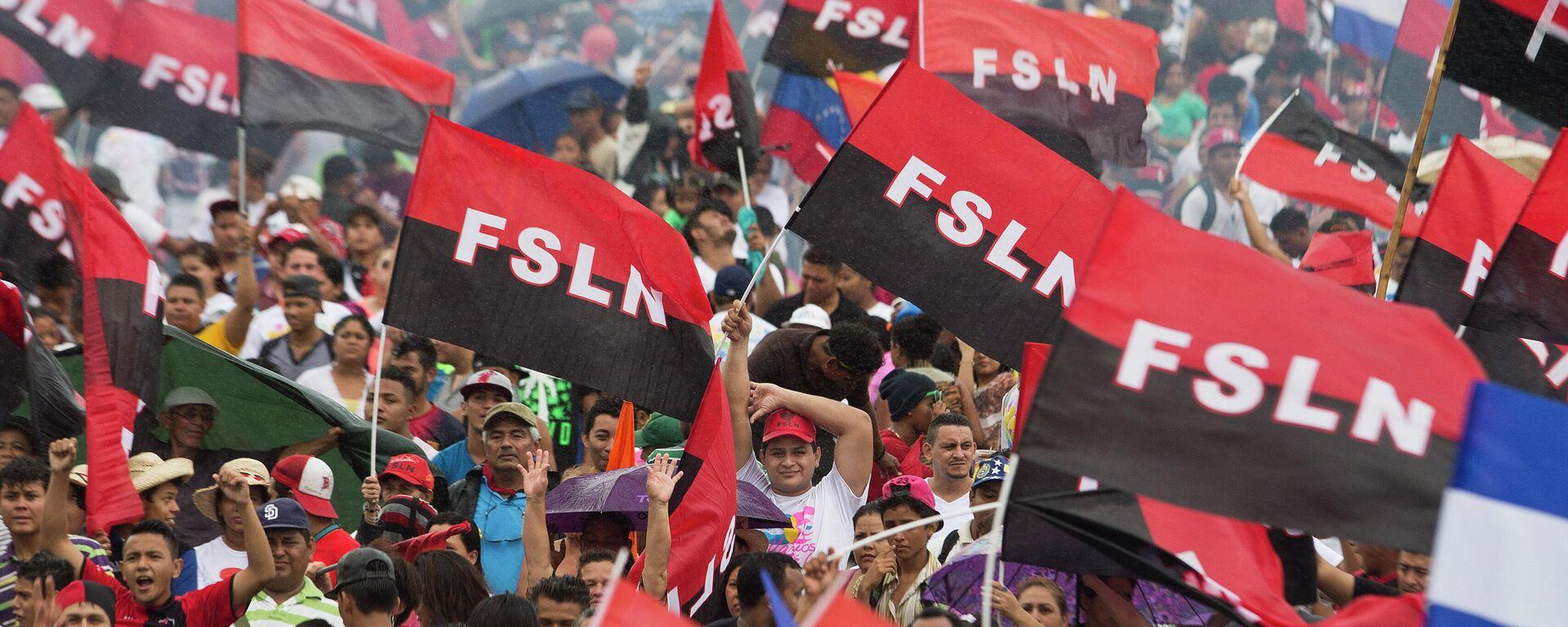 Partidarios del Frente Sandinista de Liberación Nacional (FSLN) - Sputnik Mundo, 1920, 03.08.2021
