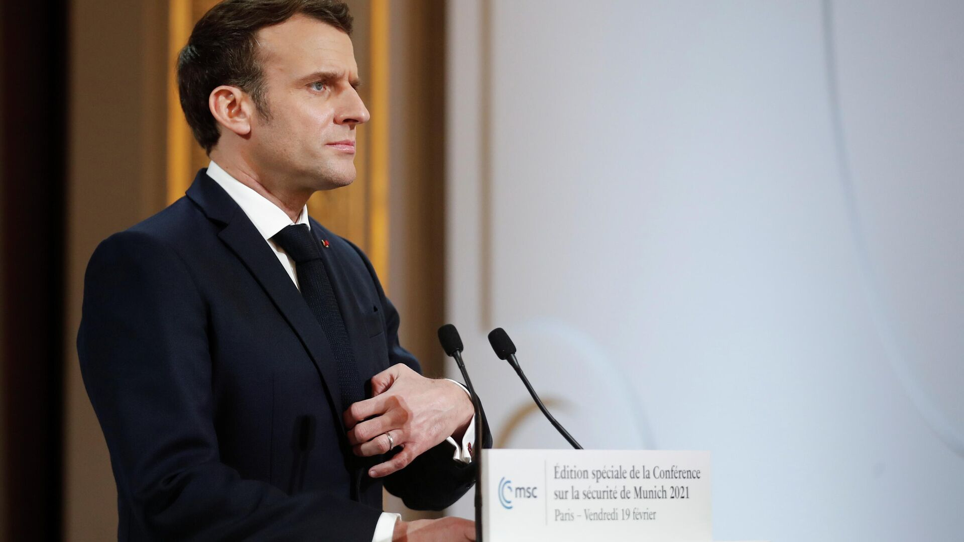 Emmanuel Macron, presidente de Francia - Sputnik Mundo, 1920, 20.07.2021