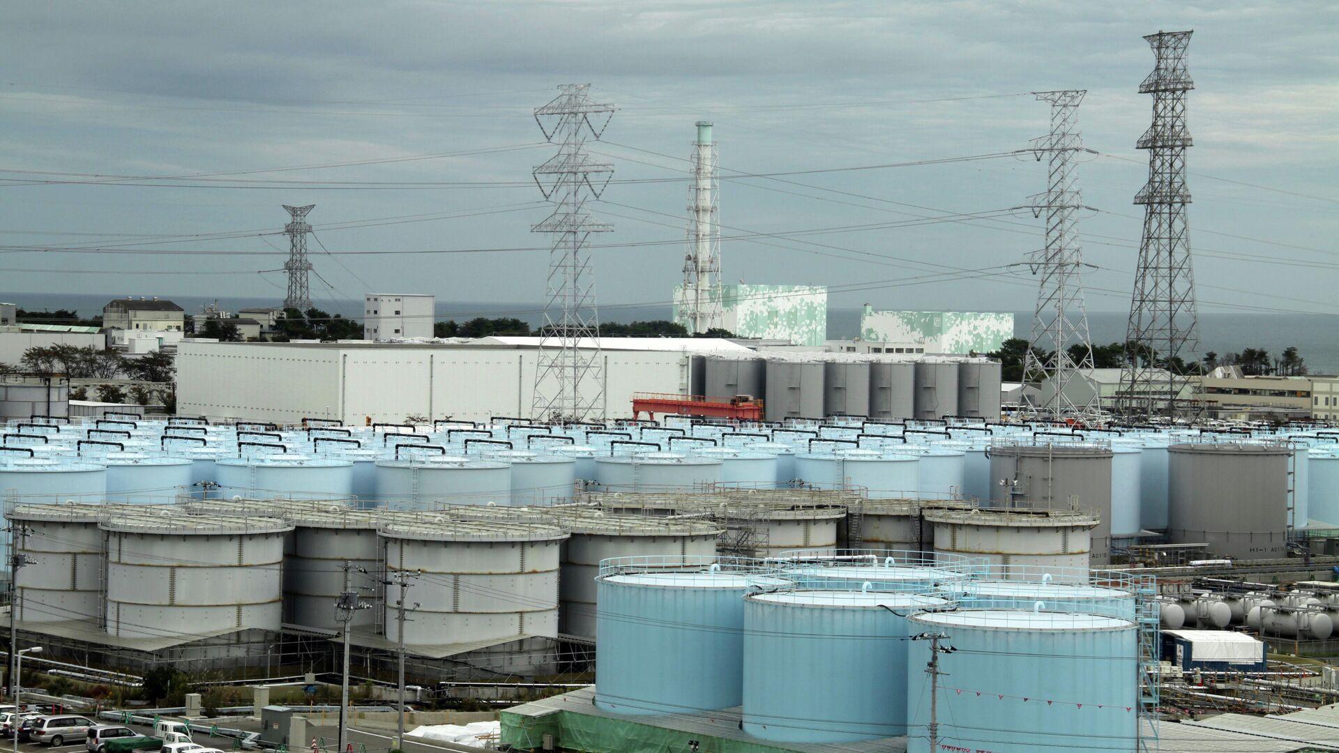 La central nuclear de Fukushima, en Japón - Sputnik Mundo, 1920, 22.02.2021