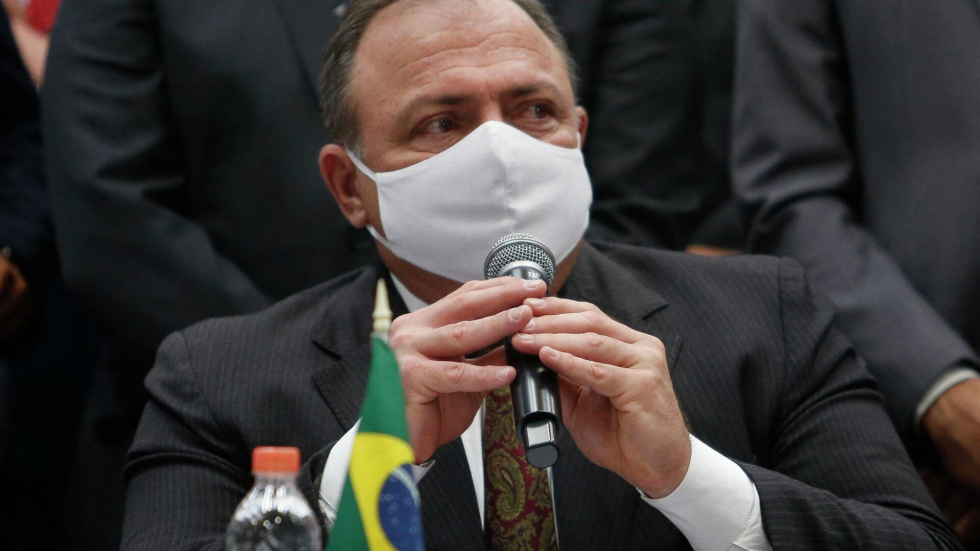 Eduardo Pazuello, ministro de Salud de Brasil - Sputnik Mundo, 1920, 18.05.2021