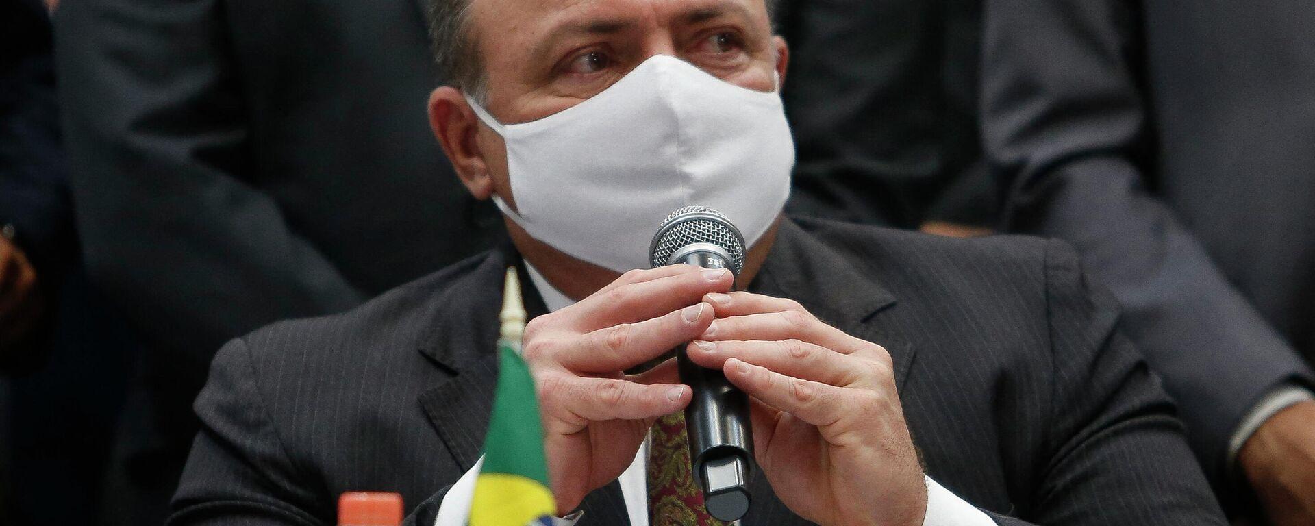 Eduardo Pazuello, ministro de Salud de Brasil - Sputnik Mundo, 1920, 16.07.2021