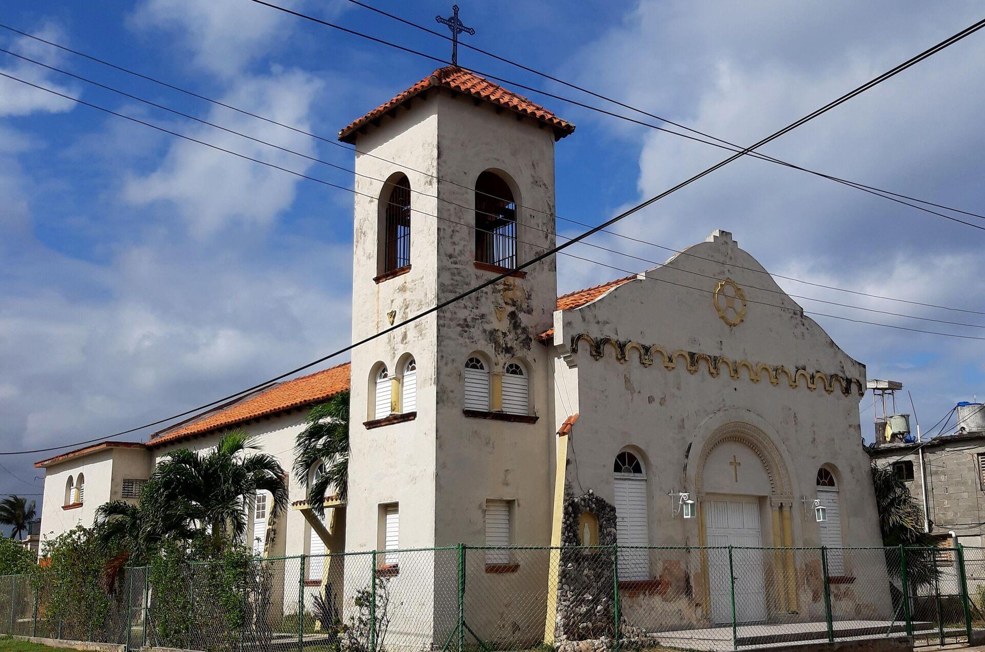 Iglesia católica en La Habana, capital de Cuba  - Sputnik Mundo, 1920, 22.02.2021