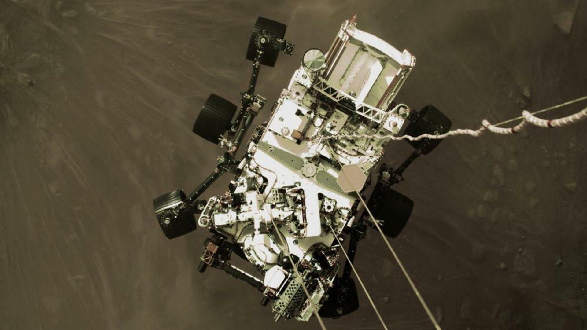 Aterrizaje del rover Perseverance en Marte, el 18 de febrero del 2021 - Sputnik Mundo, 1920, 22.02.2021