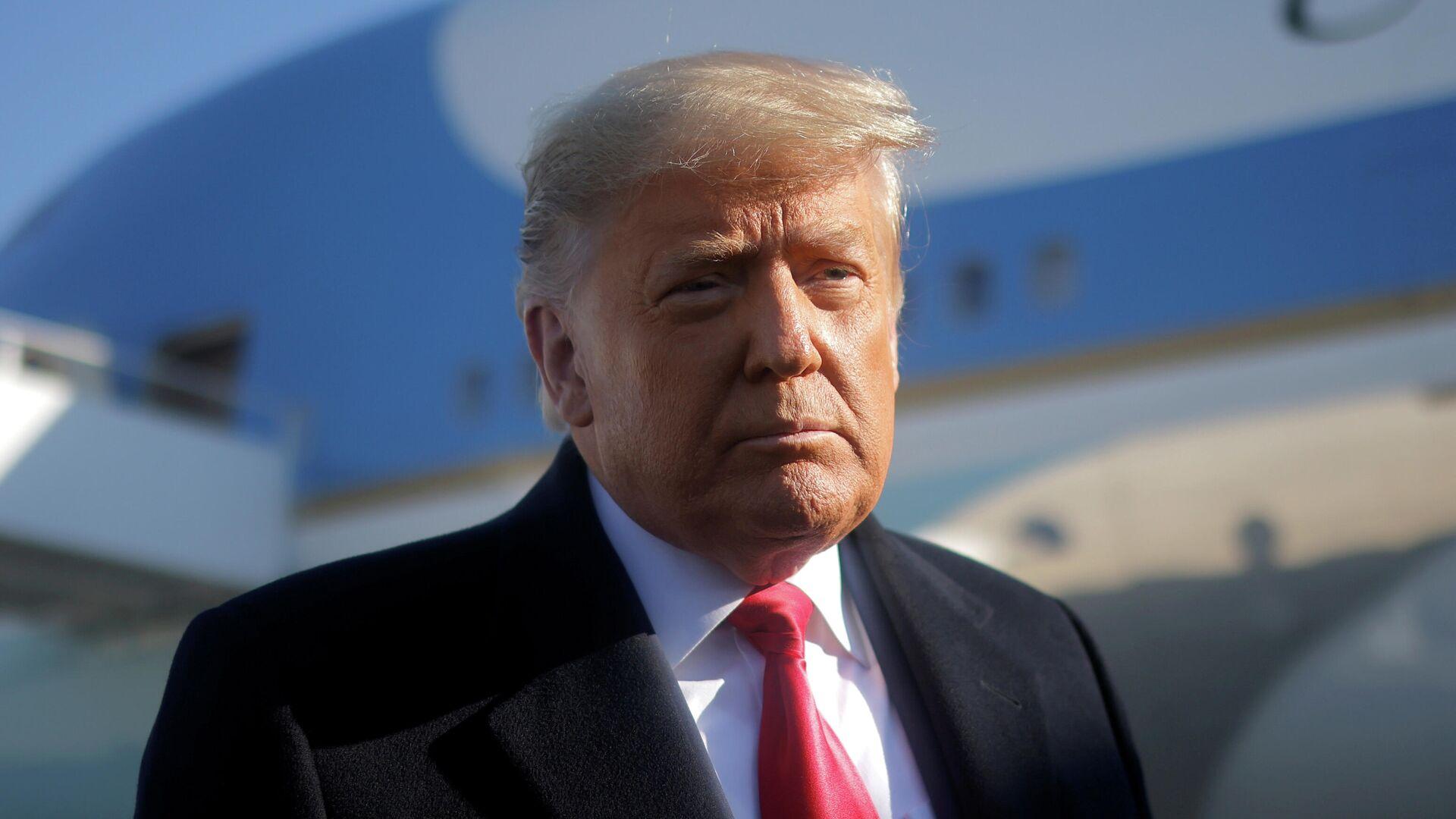 Donald Trump, expresidente de EEUU - Sputnik Mundo, 1920, 22.02.2021