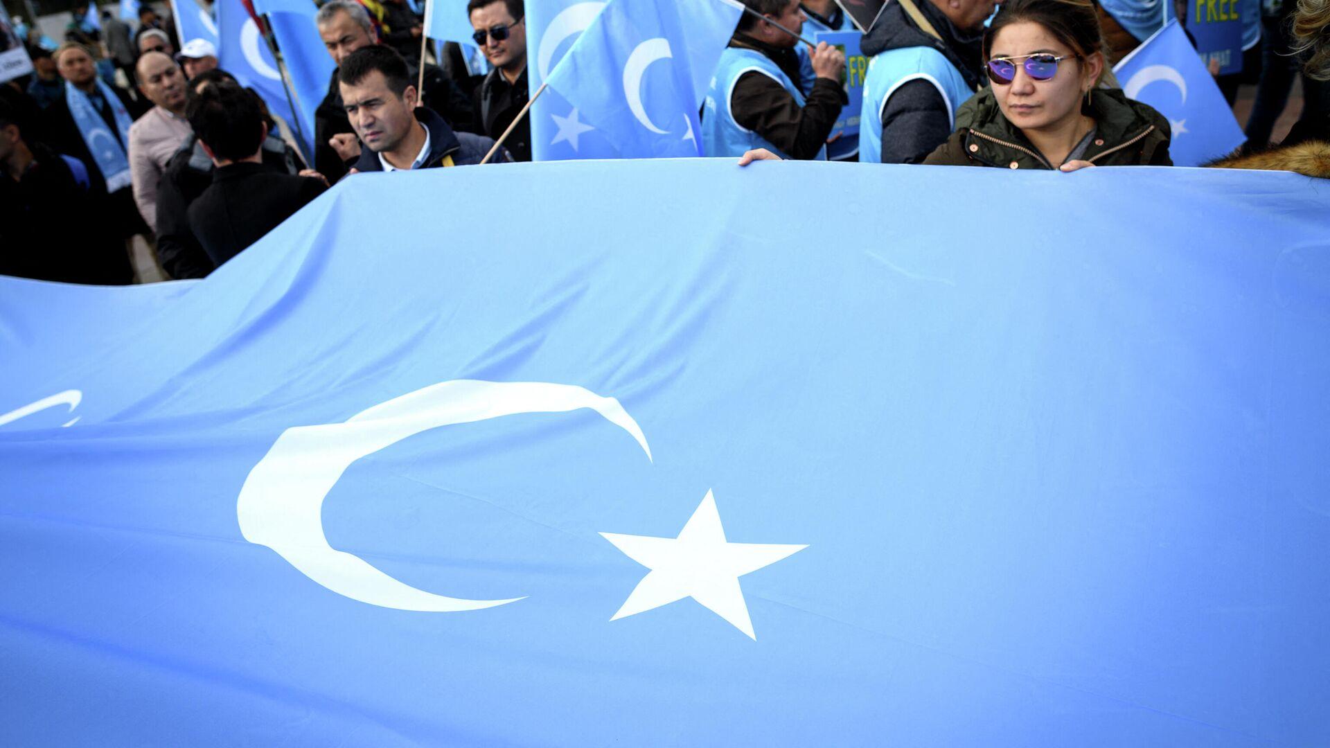 Bandera uigur  - Sputnik Mundo, 1920, 23.02.2021
