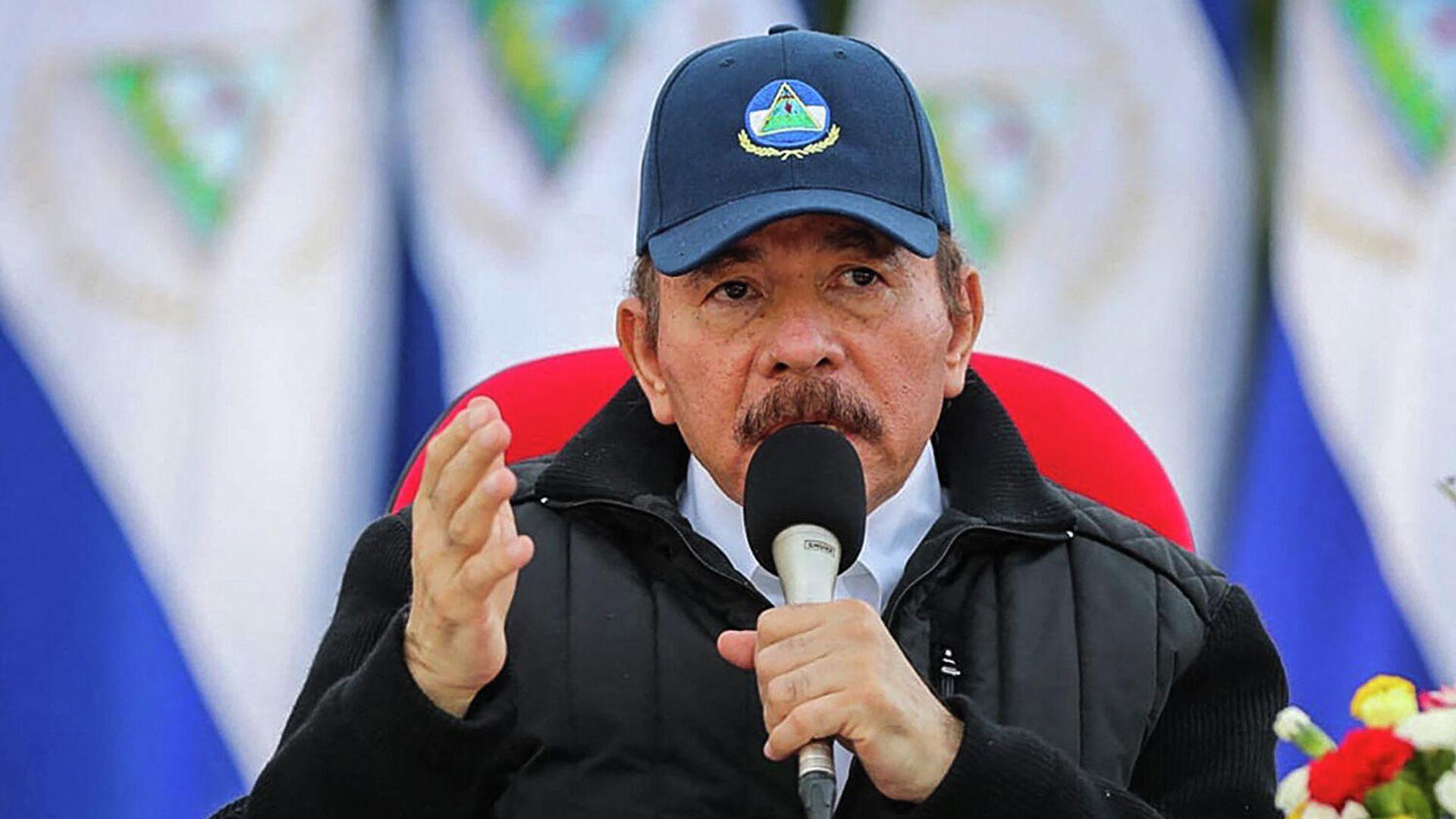 Daniel Ortega, presidente de Nicaragua - Sputnik Mundo, 1920, 23.02.2021