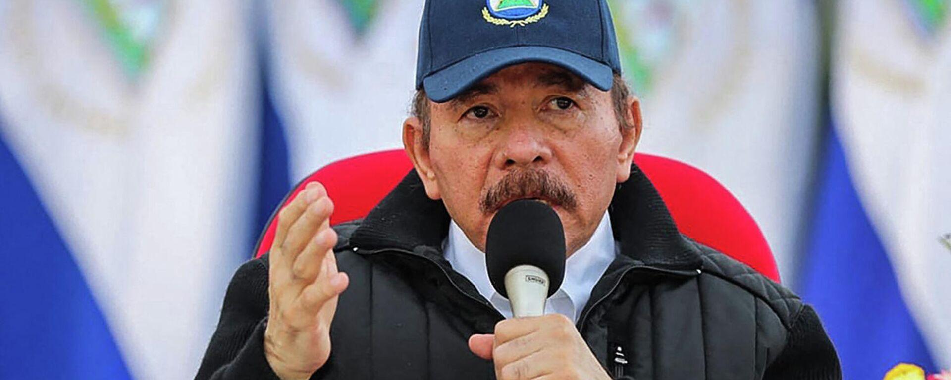 Daniel Ortega, presidente de Nicaragua - Sputnik Mundo, 1920, 07.09.2021