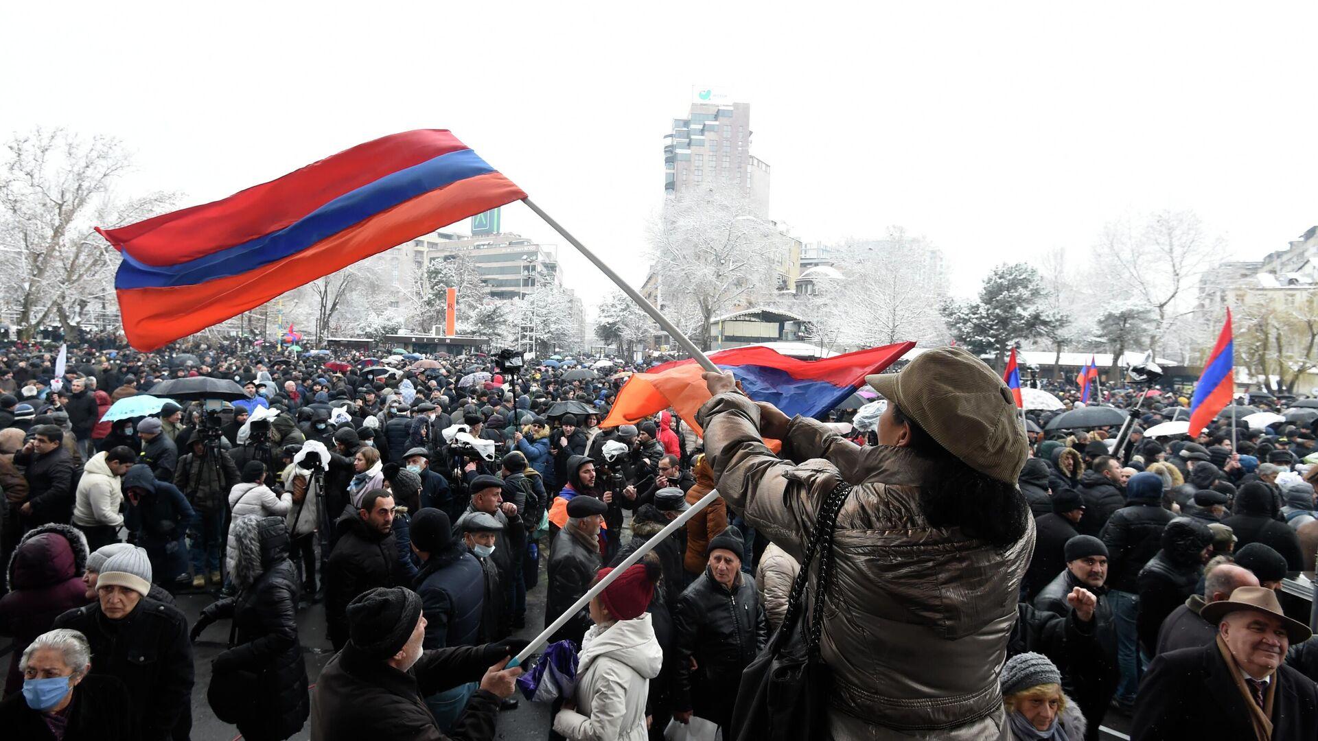 Manifestaciones en Armenia - Sputnik Mundo, 1920, 23.02.2021