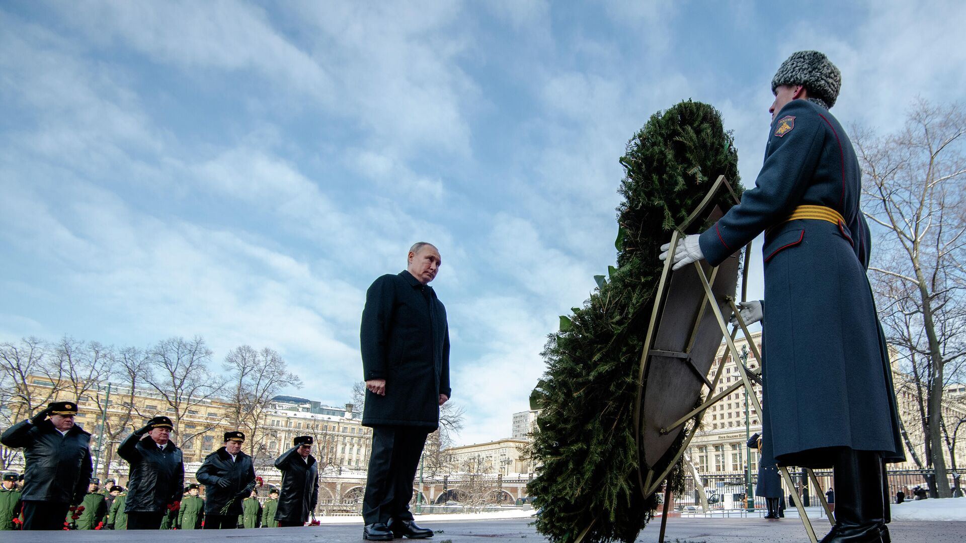 Vladímir Putin, presidente de Rusia - Sputnik Mundo, 1920, 23.02.2021