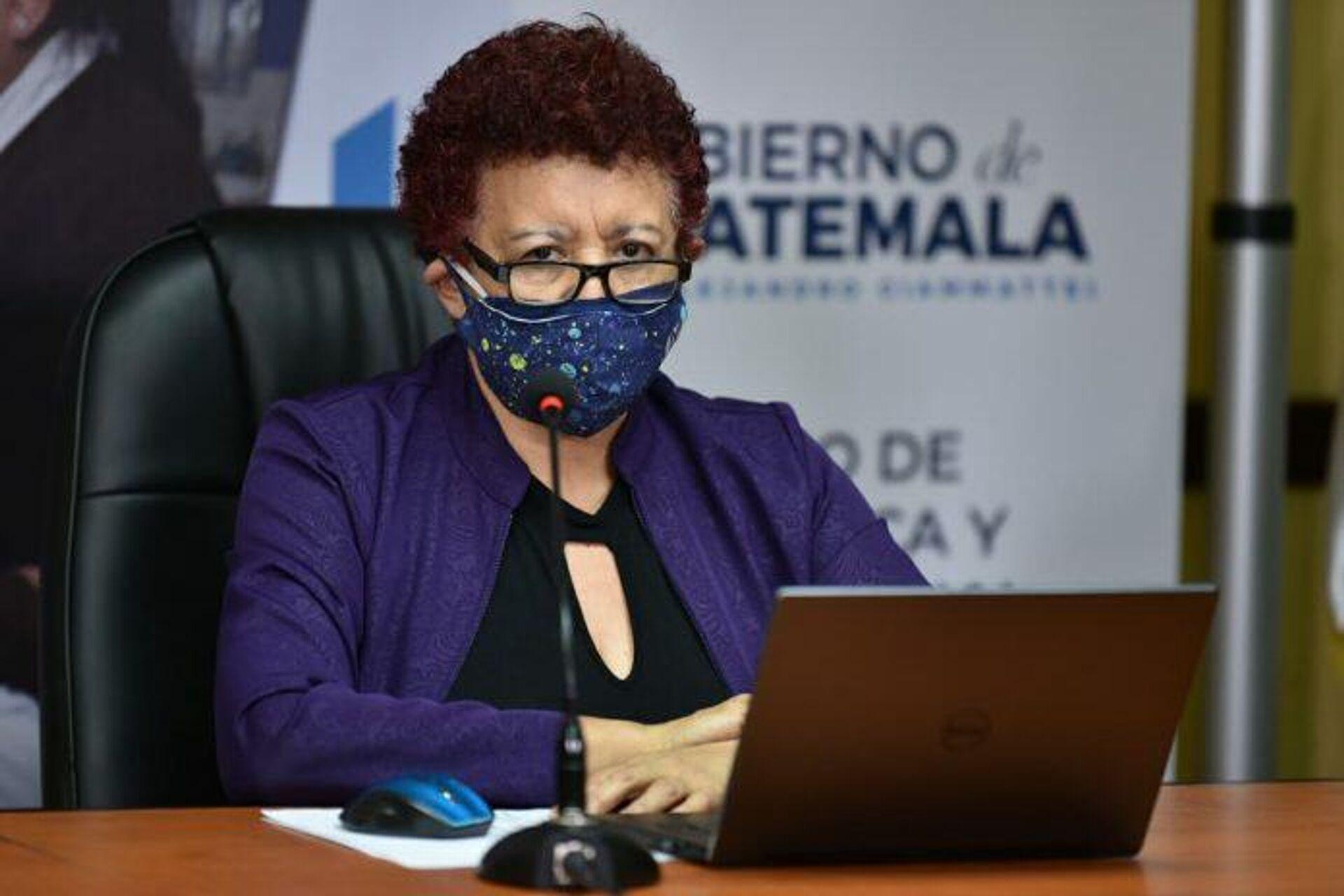 Amelia Flores, ministra de Salud de Guatemala - Sputnik Mundo, 1920, 23.02.2021