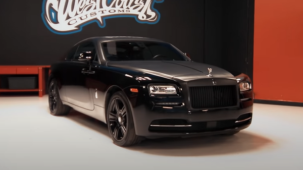 El Rolls-Royce Wraith de Justin Bieber antes de la remodelación - Sputnik Mundo