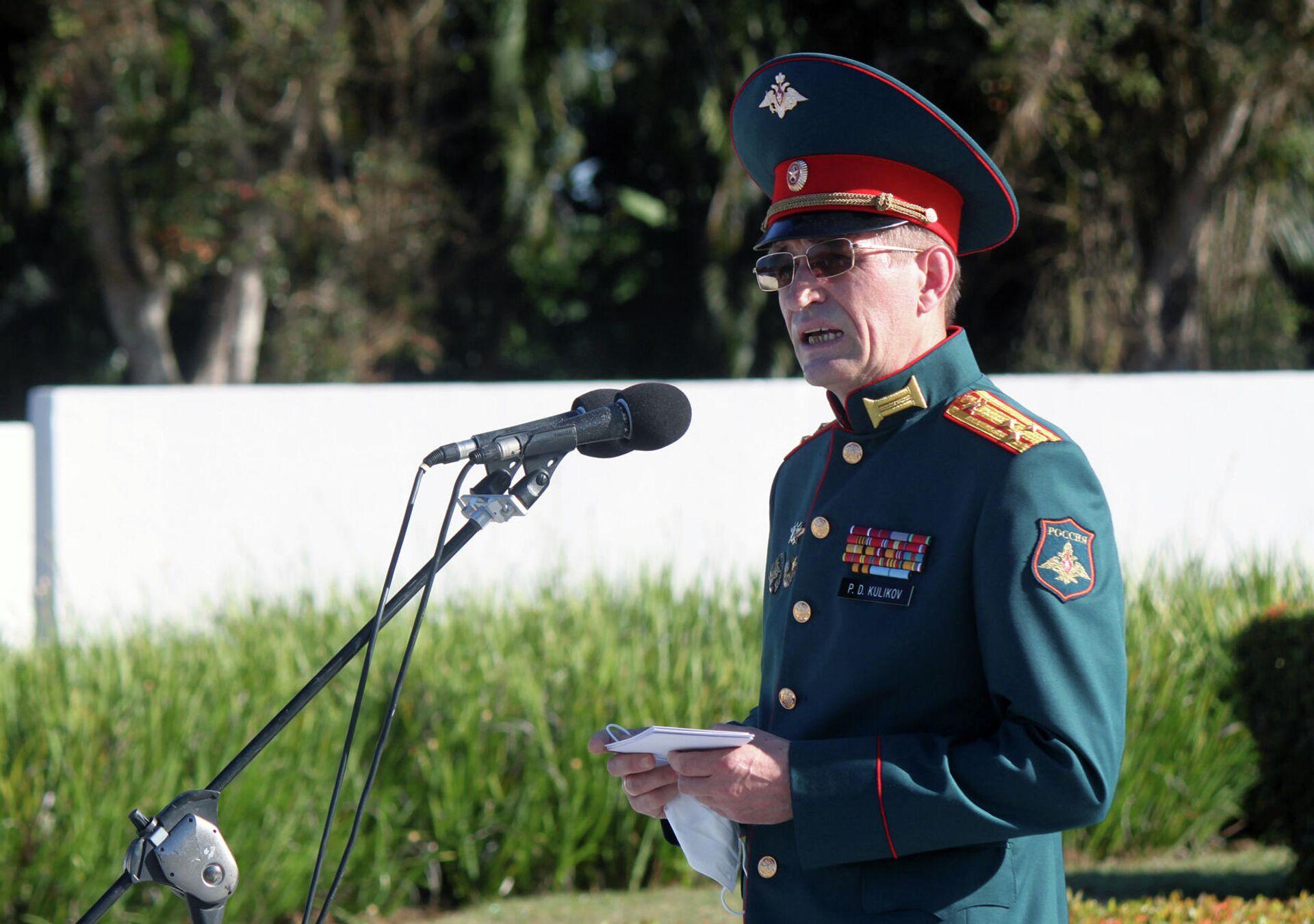 Coronel Petr Kulikov, agregado de Defensa de la embajada de Rusia en Cuba - Sputnik Mundo, 1920, 23.02.2021