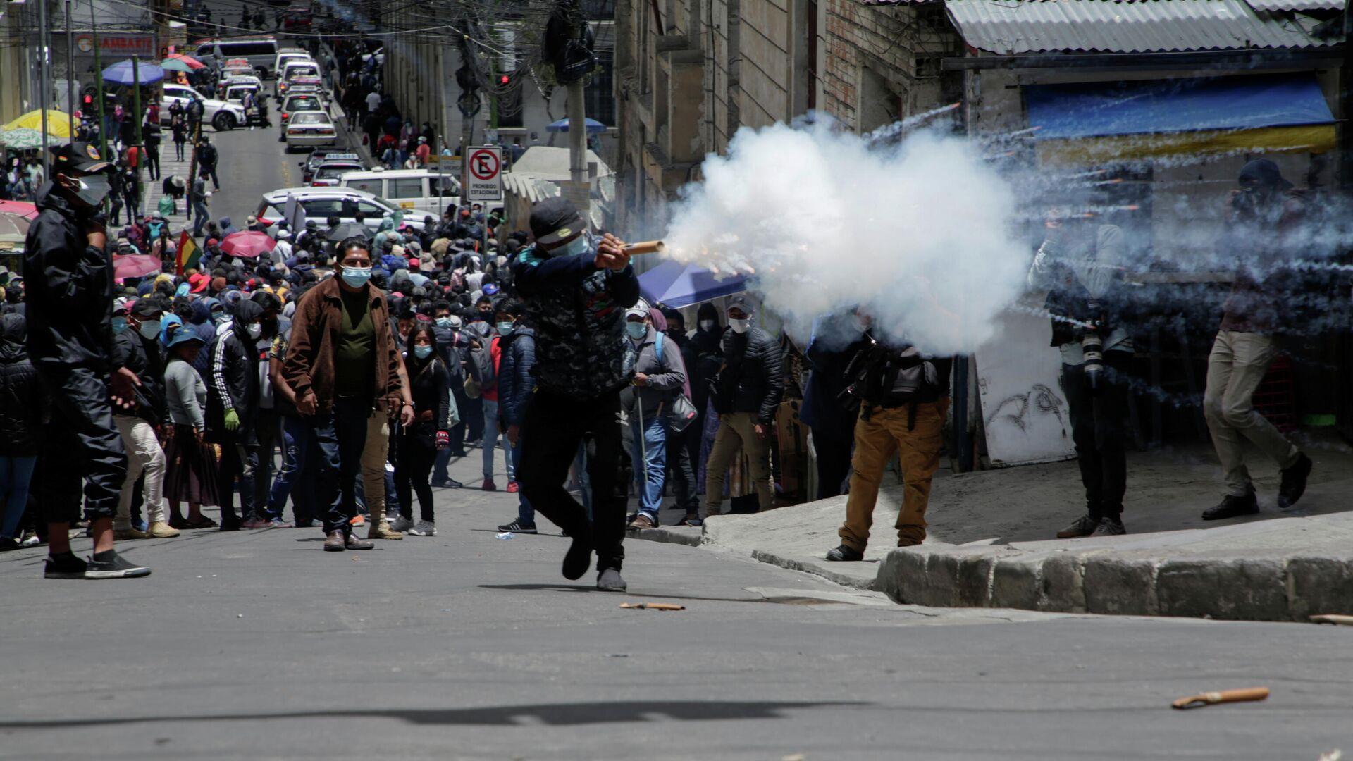 Protestas en Bolivia - Sputnik Mundo, 1920, 23.02.2021